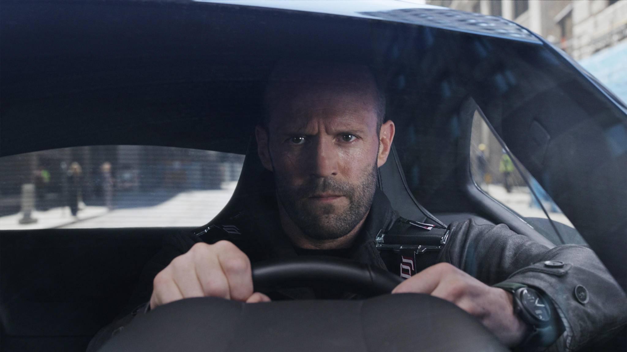 Ob hinterm Lenkrad oder mit einer Wumme in der Hand: Jason Statham ist im Actiongenre zu Hause.