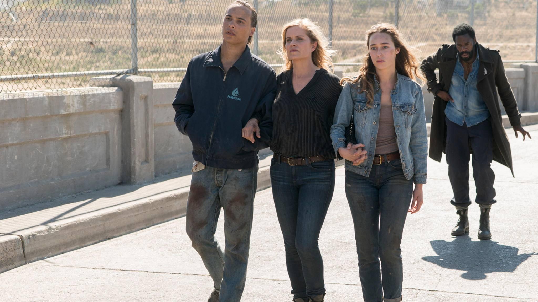 Das Finale von Staffel 3 könnte verraten haben, welche Stars aus TWD und FTWD aufeinandertreffen werden.