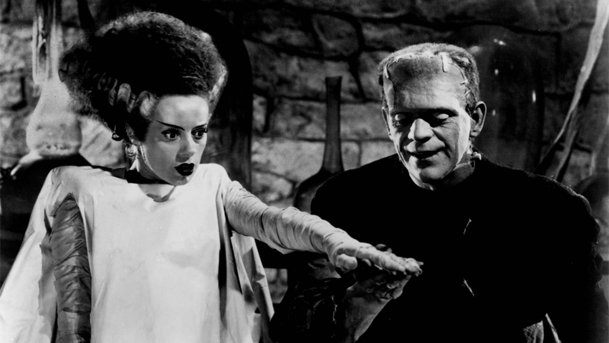 """Vorerst müssen Horror-Fans mit """"Frankensteins Braut"""" von 1935 vorlieb nehmen."""