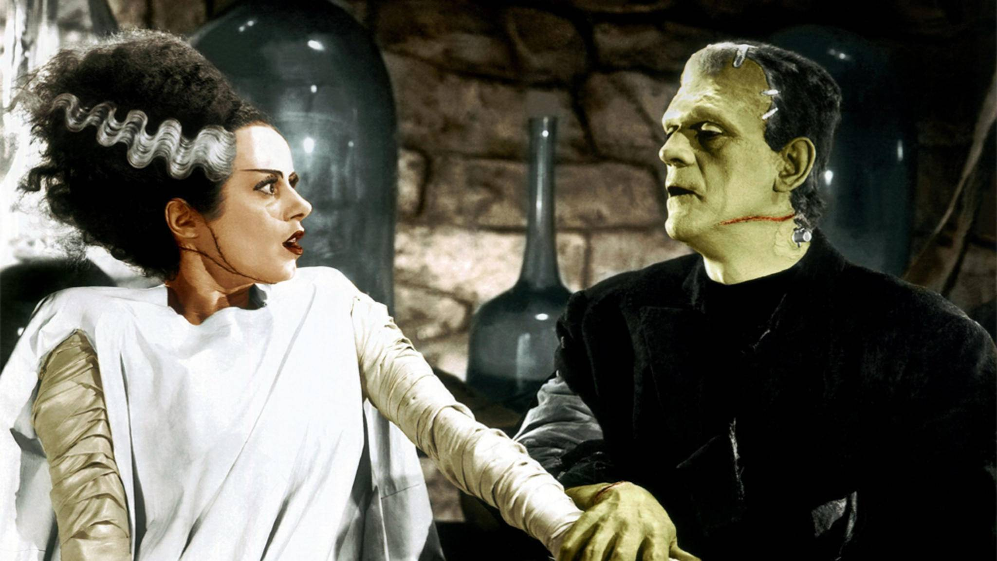 Ob der Film von Bill Condon ähnlich gruselig wie das (hier nachkolorierte) Original von 1935 wird?