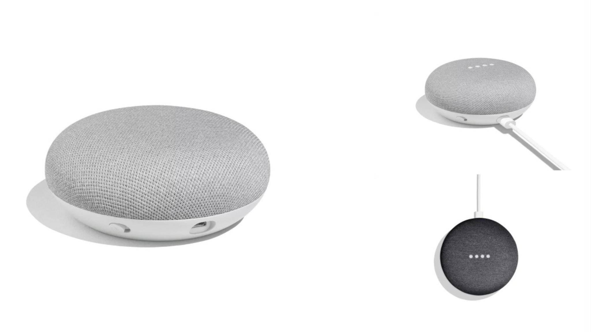 Der Home Mini ist Googles kleinster Smart-Lautsprecher im Bunde.