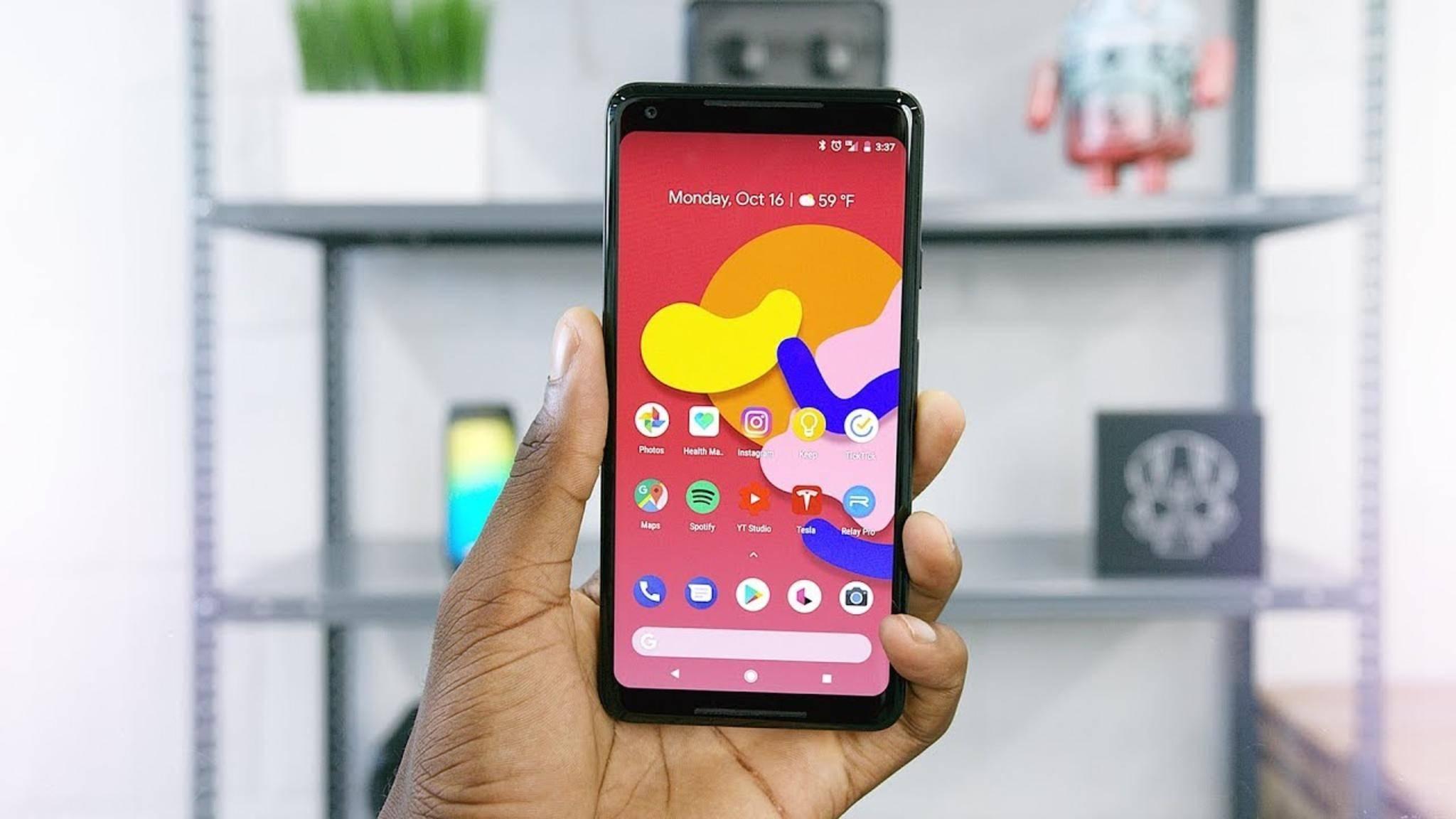 Einige Modelle des Piel 2 XL wurden versehentlich ohne Android verschickt.