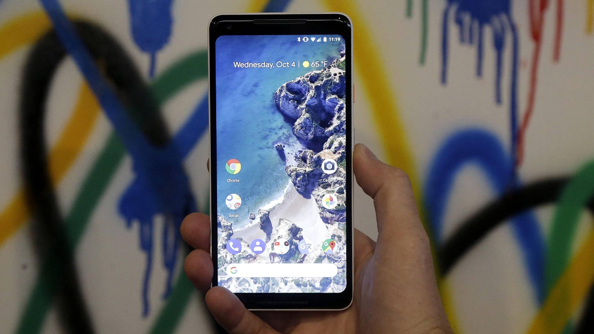 Das Google Pixel 2 XL wurde am 4. Oktober vorgestellt.