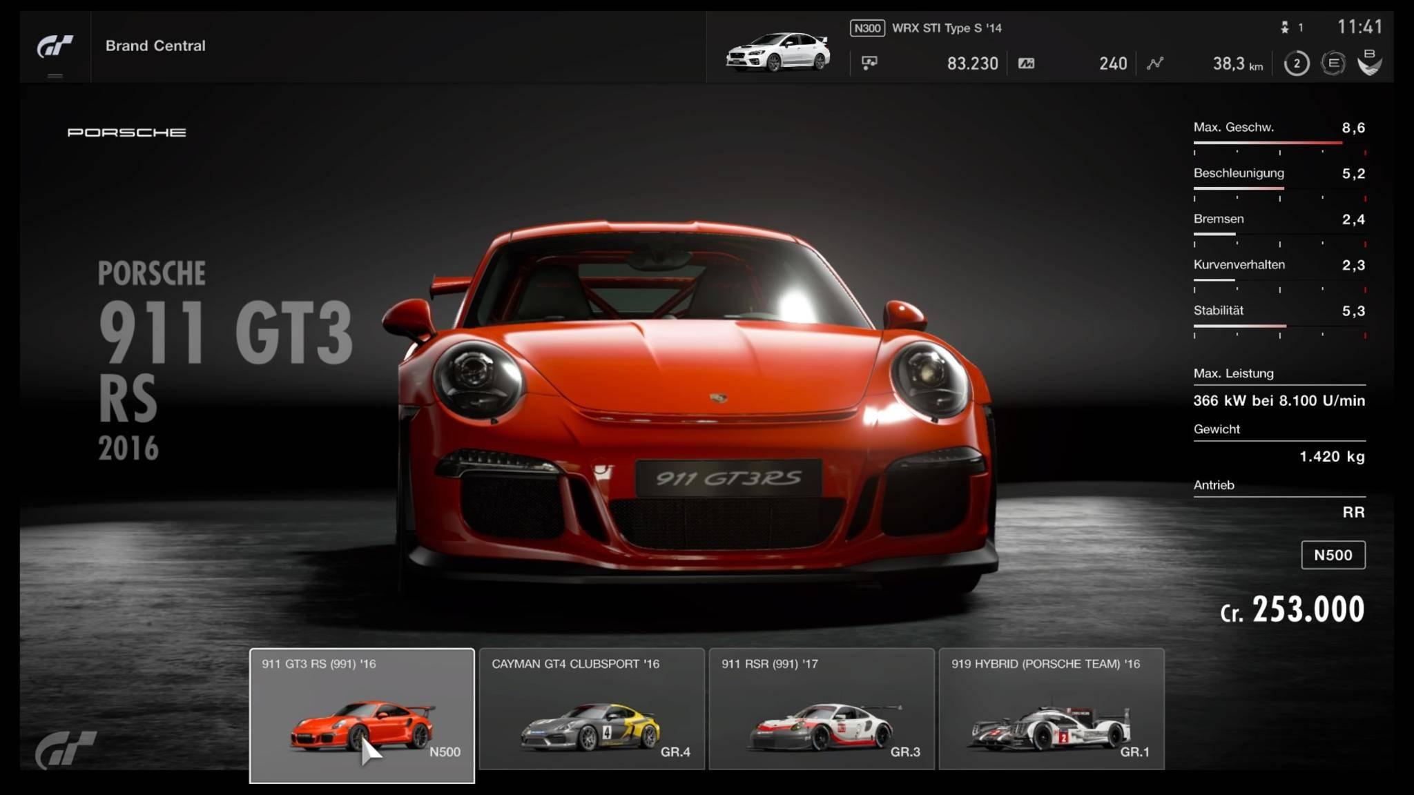 """Die meisten Fahrzeuge sind in """"Gran Turismo Sport"""" jetzt auch für echtes Geld erhältlich – einige freut's, andere weniger."""