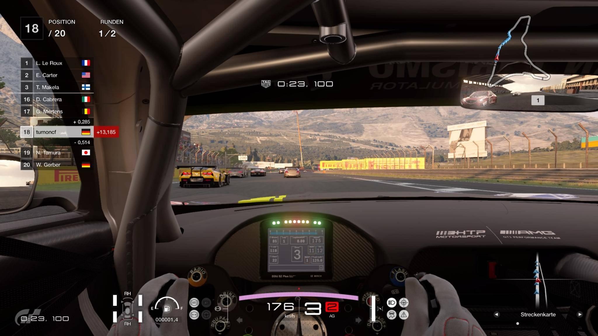 Der Blick aus dem Cockkpit wird mit VR erst richtig interessant.