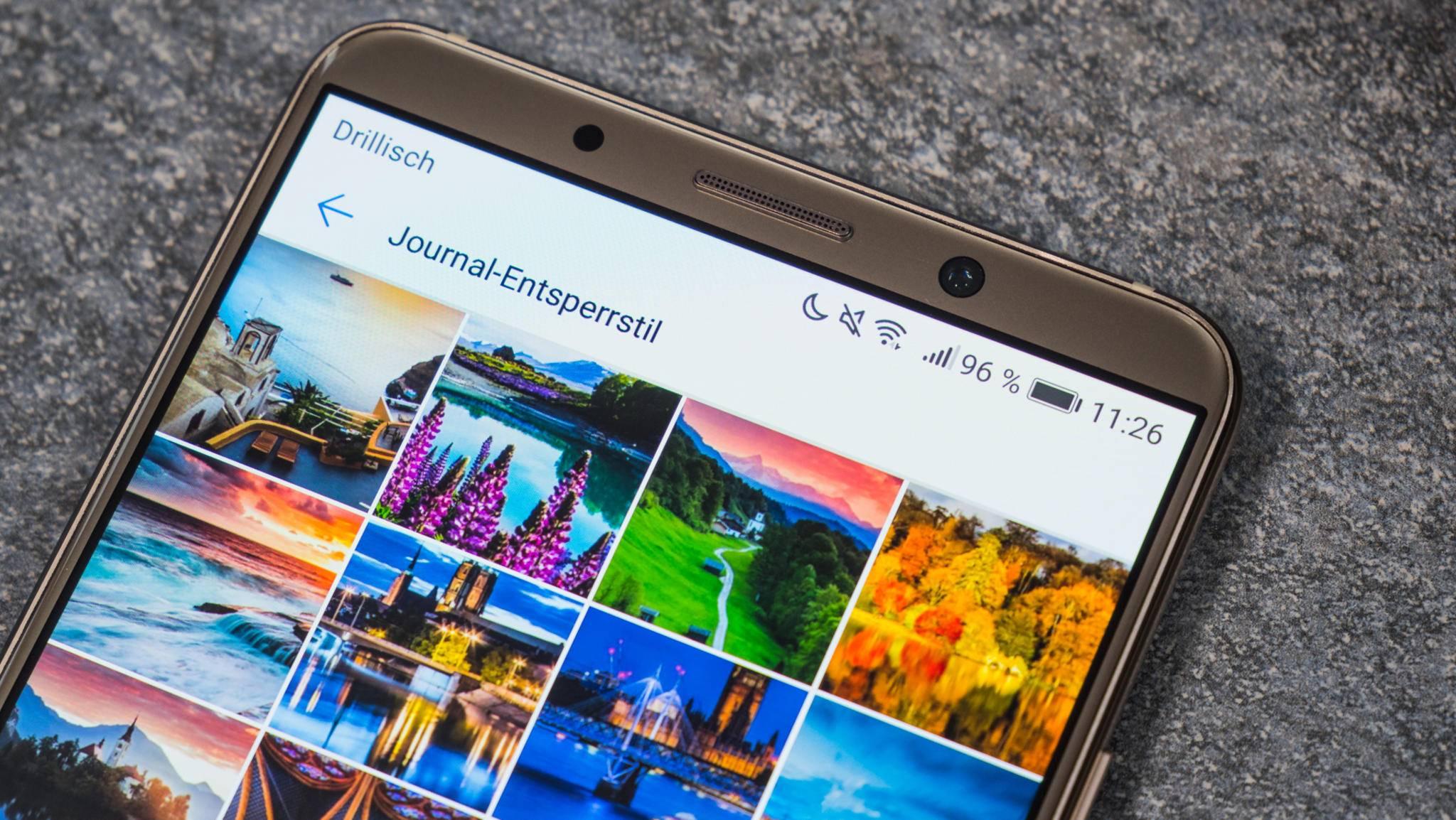 Huawei liefert regelmäßig Updates für seine Flaggschiffe.