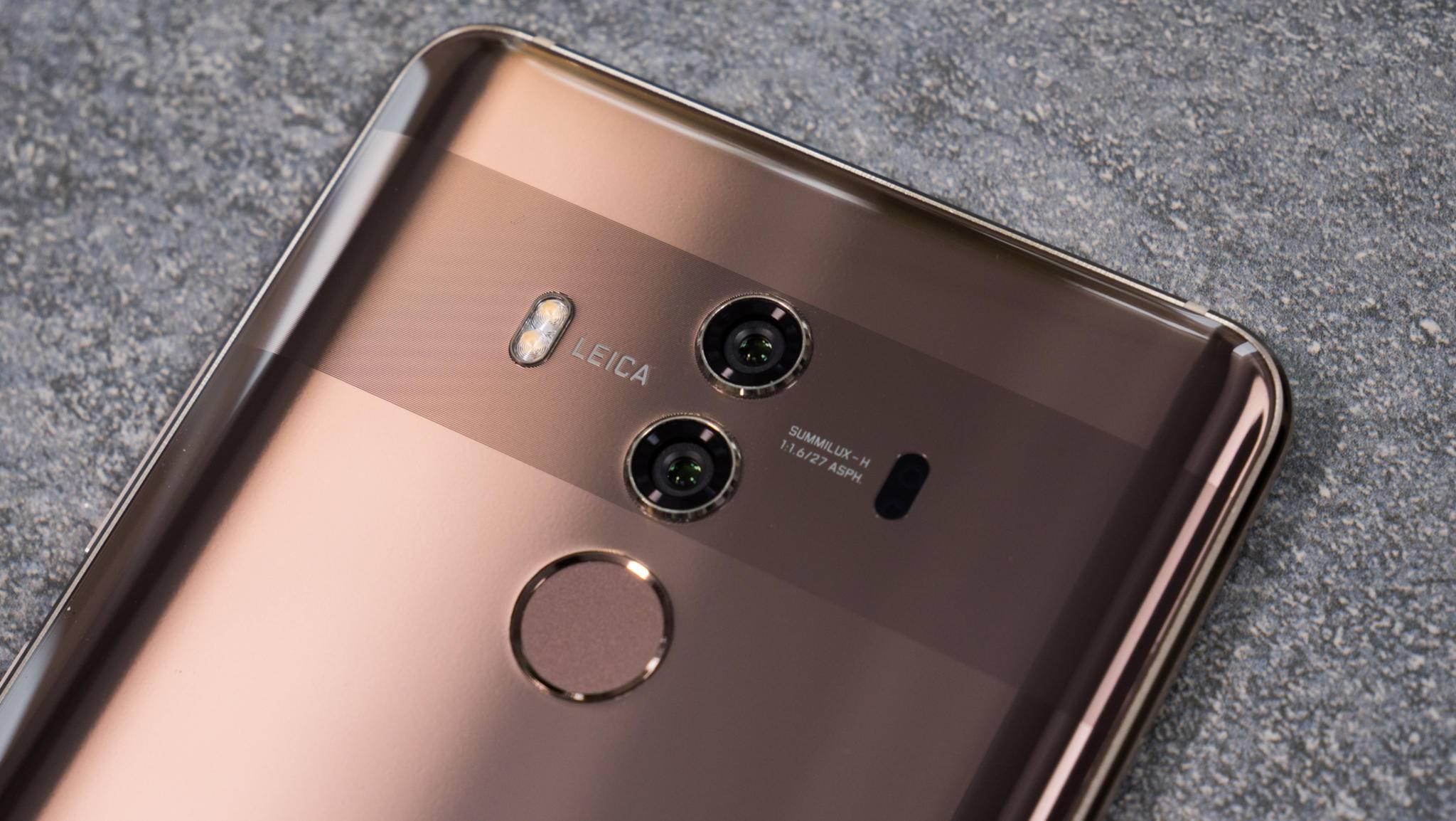 Das Huawei Mate 10 Pro dürfte im Oktober einen Nachfolger erhalten.