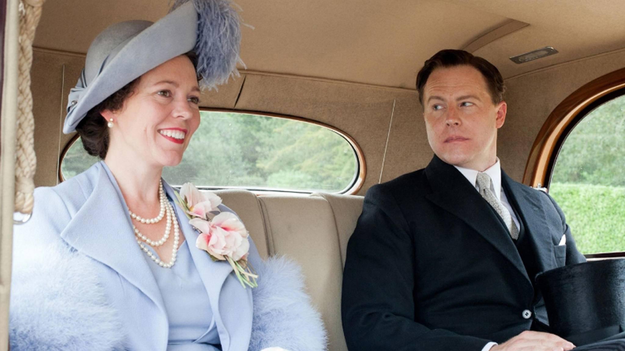 """Olivia Colman wird in """"The Crown"""" den Thron besteigen, aber damit hat sie ja schon Erfahrung ..."""