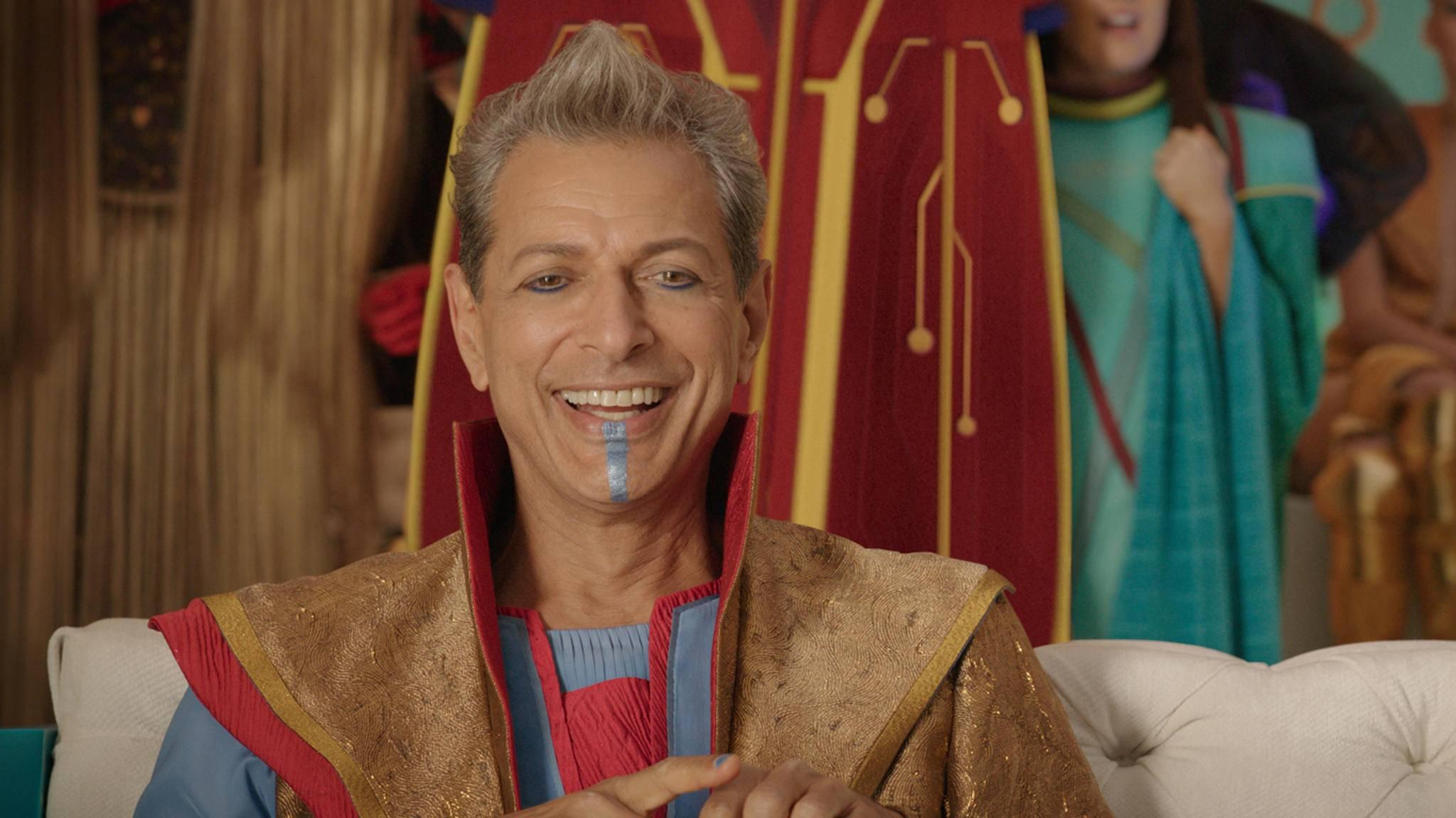 Jeff Goldblum als Grandmaster in Thor 3: Tag der Entscheidung