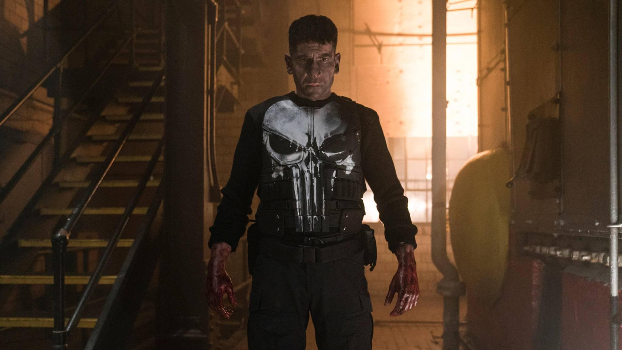 """Brutal gut: """"The Punisher"""" wird anders als zuvor """"Inhumans"""" nicht mit Spott gestraft."""