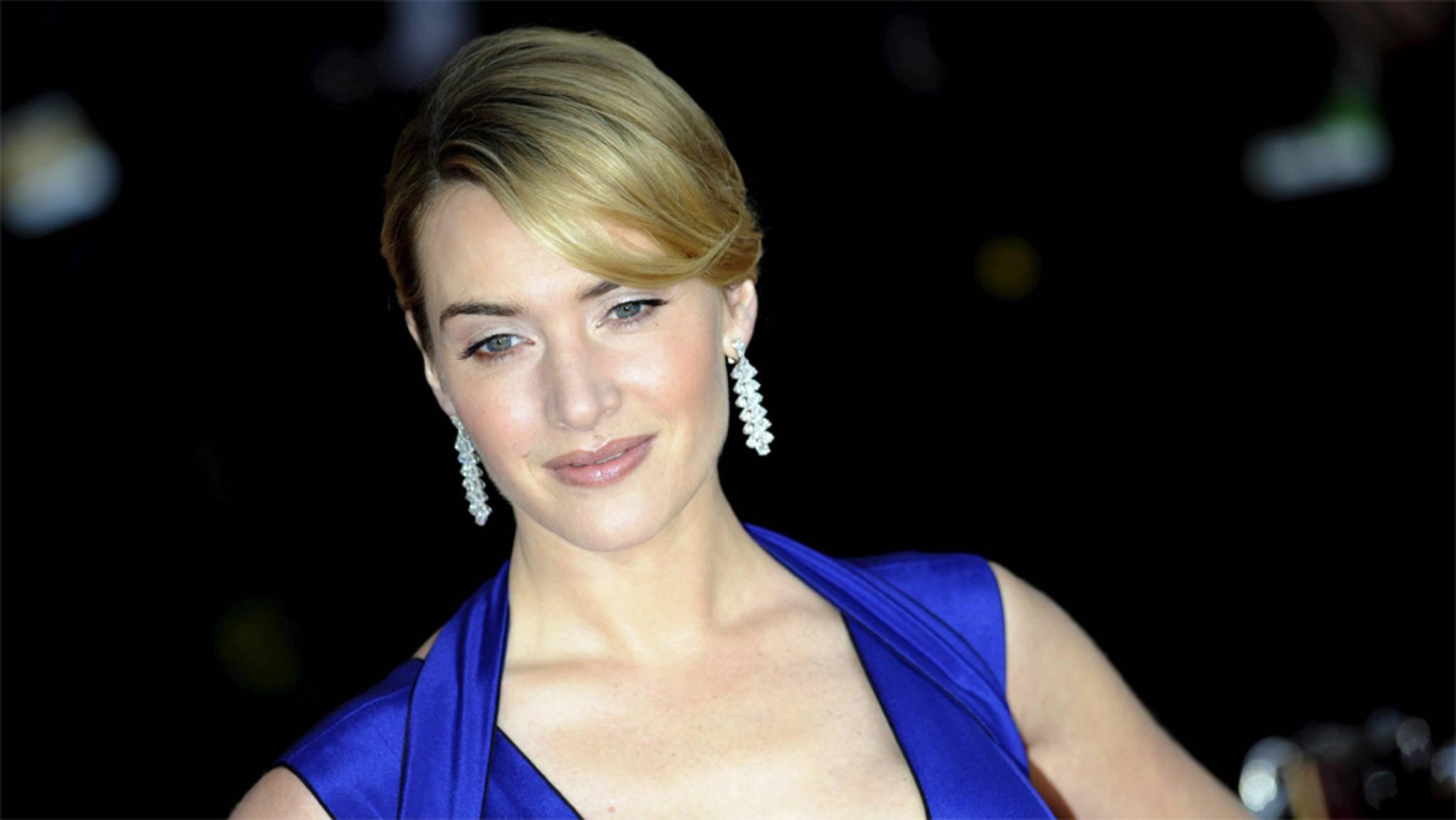 """Blau steht ihr schon mal gut: Kate Winslet wurde für eine Hauptrolle in """"Avatar 2"""" verpflichtet."""