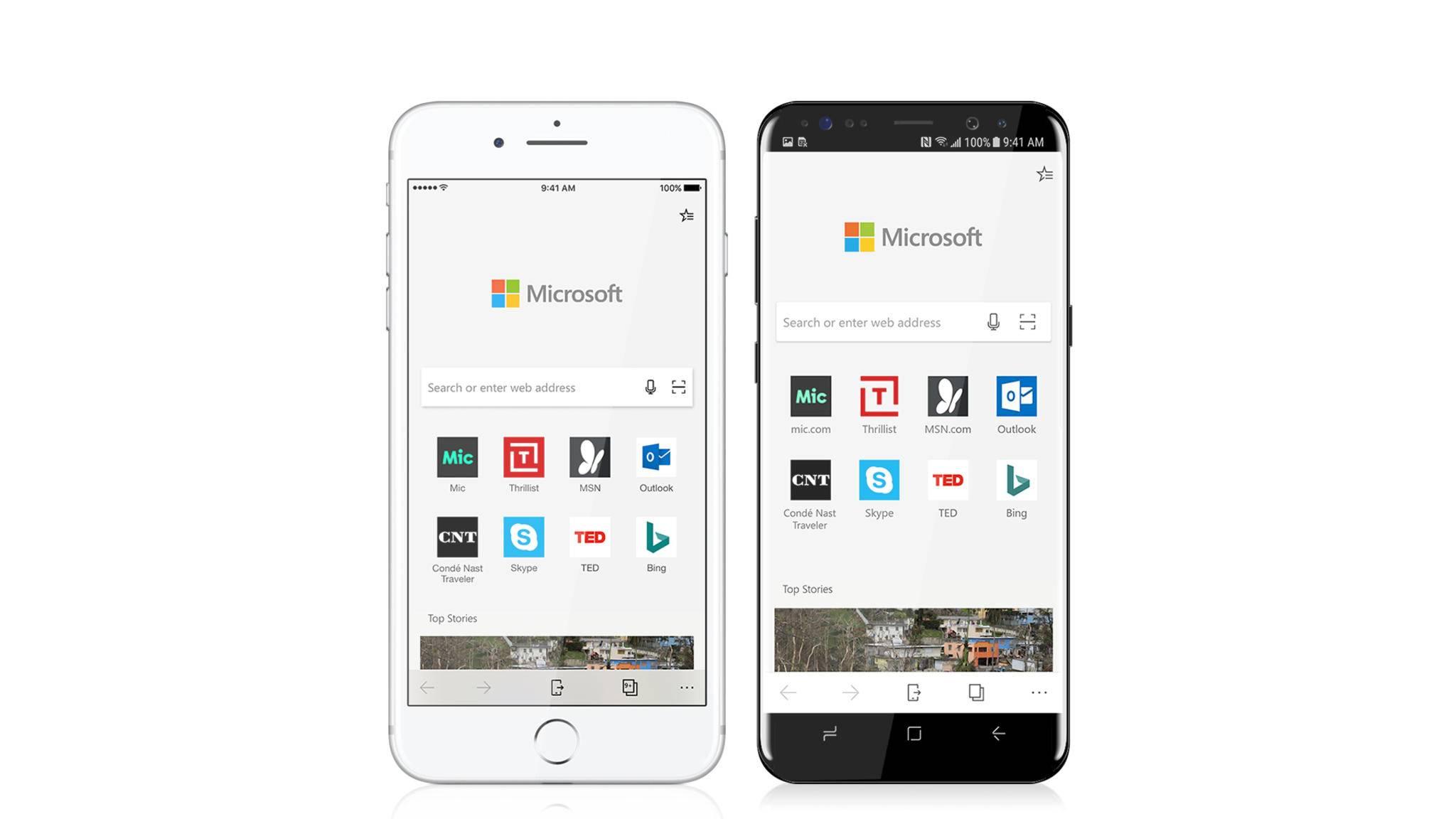 Microsoft Edge gibt es jetzt auch bei uns ganz offiziell zum Download für iOS und Android.