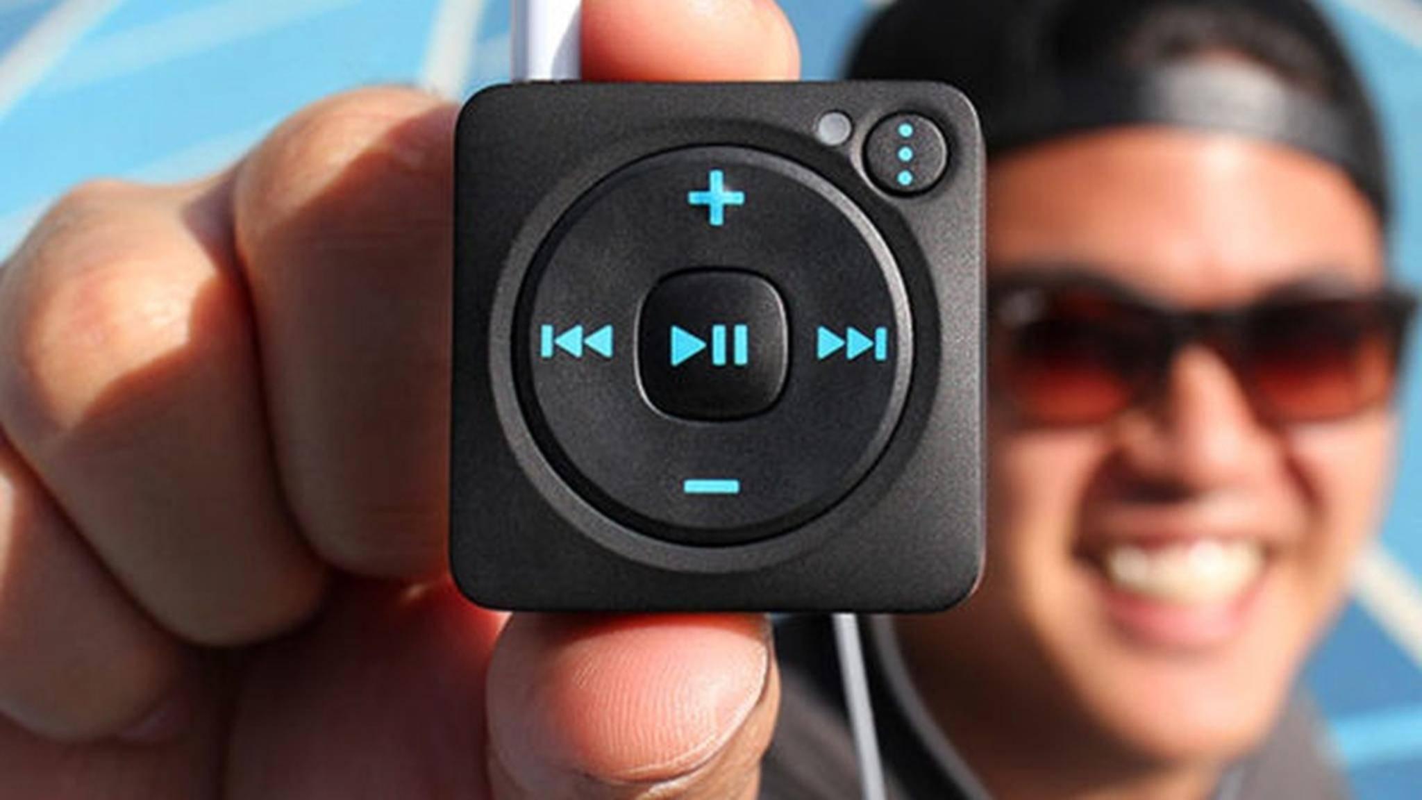 Der Mighty-Player möchte den iPod Shuffle ablösen.