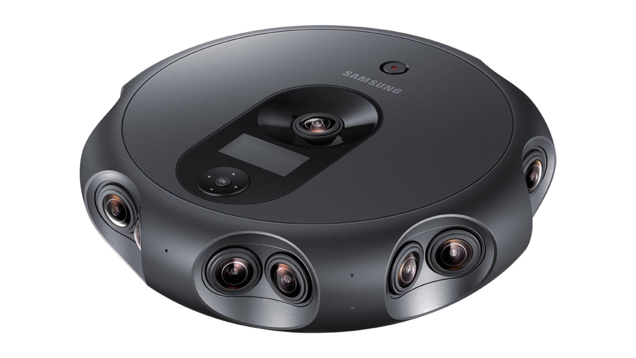 Die Samsung 360 Round ist dafür gedacht, VR-Inhalte aufzunehmen.