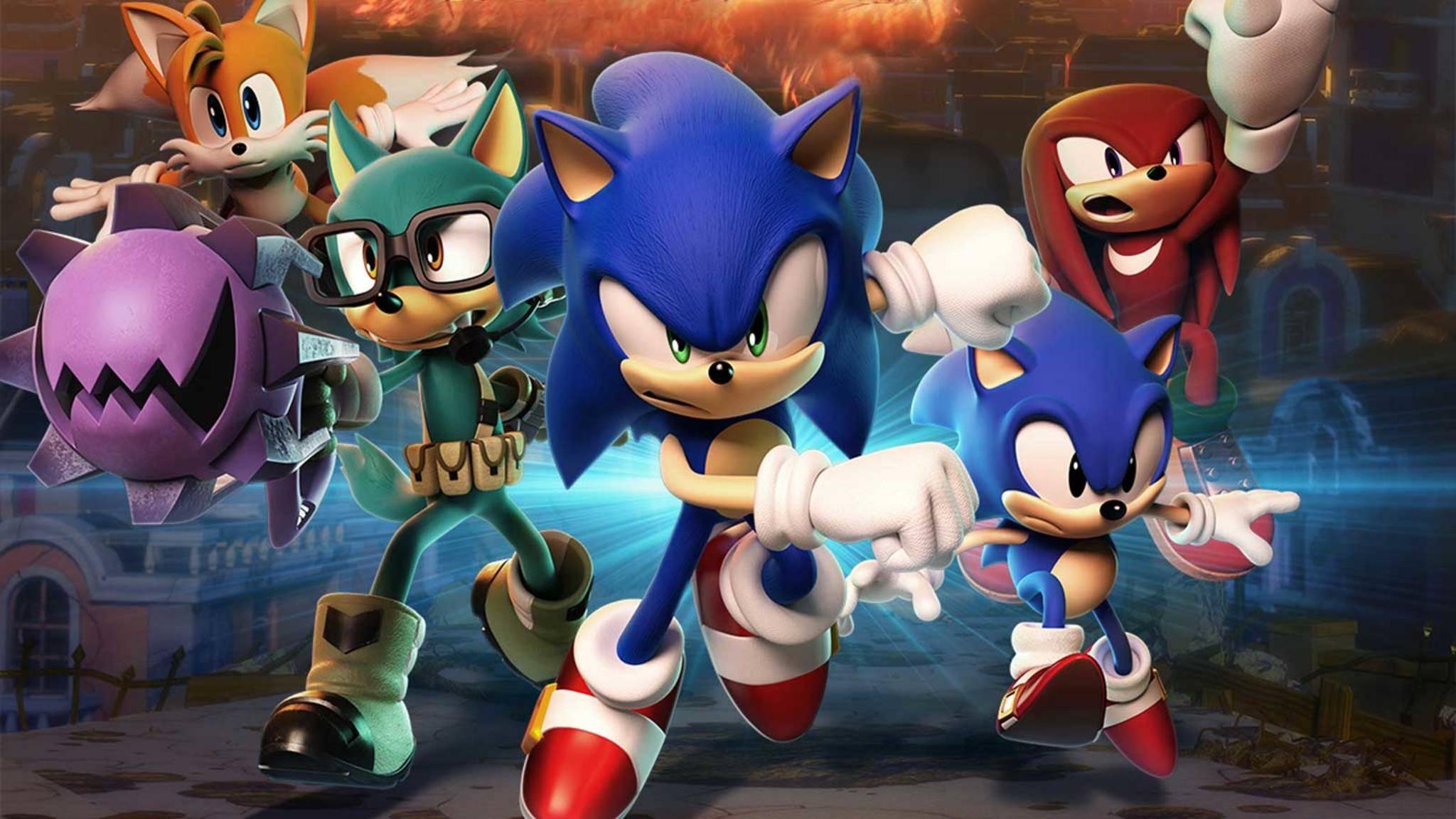 """""""Sonic Forces"""" schafft auf der Switch keine Full-HD-Auflösung."""