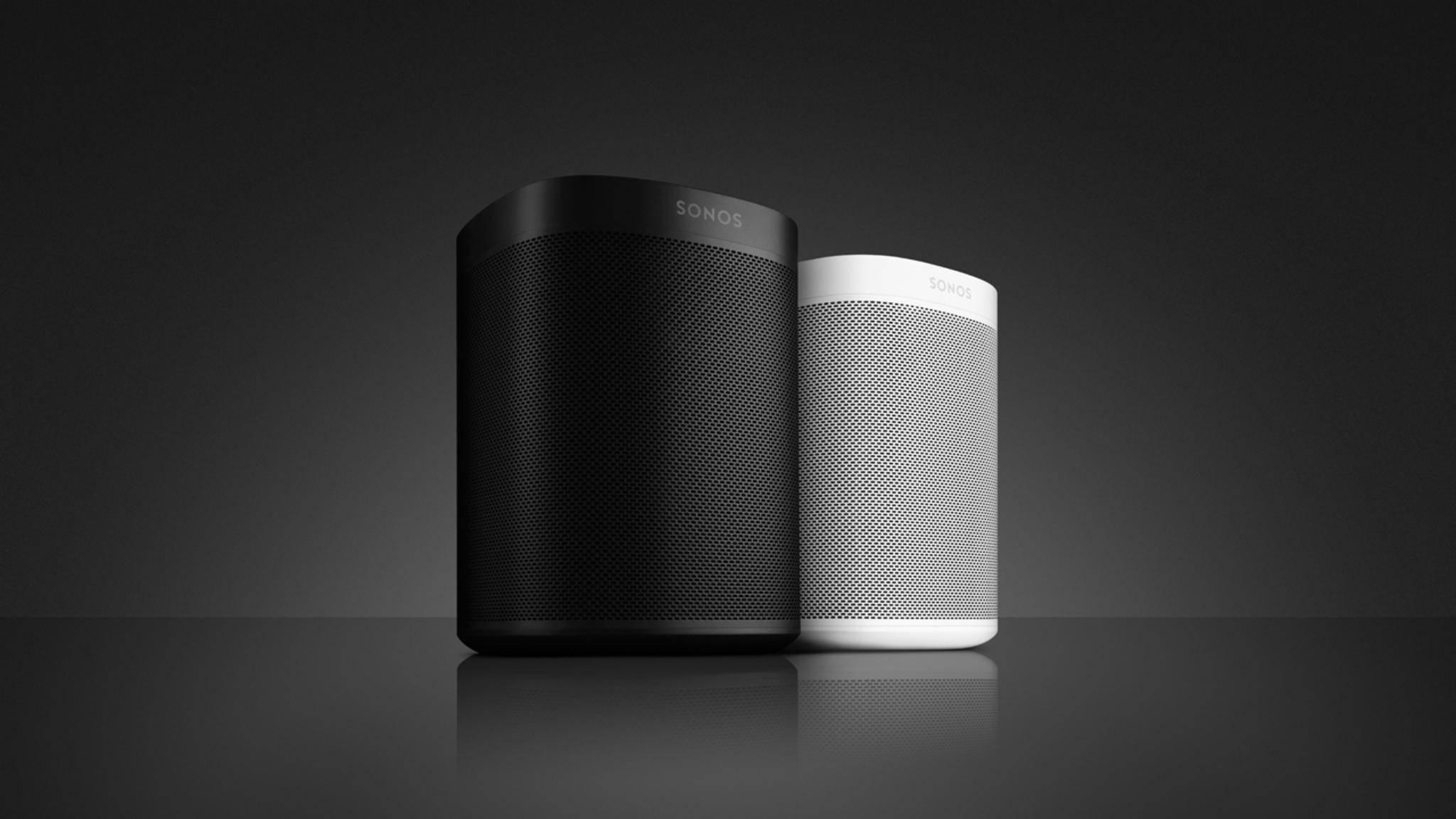Beim Zurücksetzen des Sonos One werden alle gespeicherten Daten gelöscht.