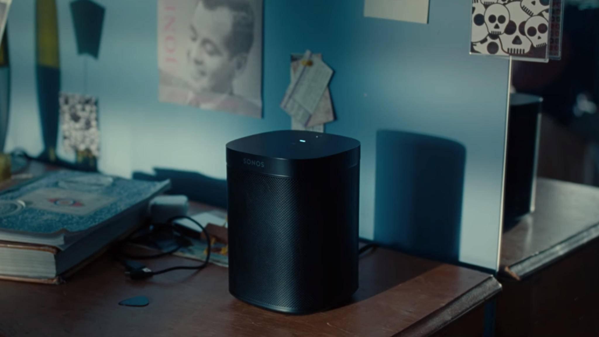 Der Sonos One erscheint Ende Oktober.