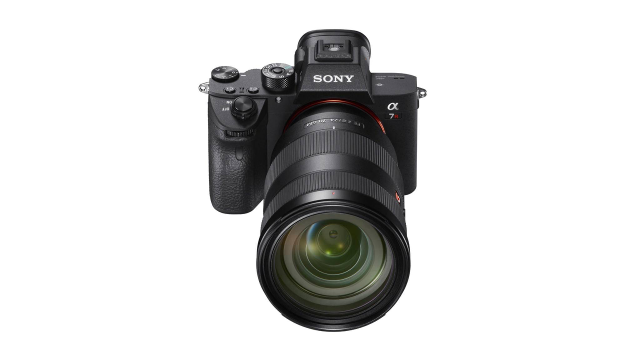 Die Sony A7R III soll mit hoher Auflösung und rasantem Tempo punkten.