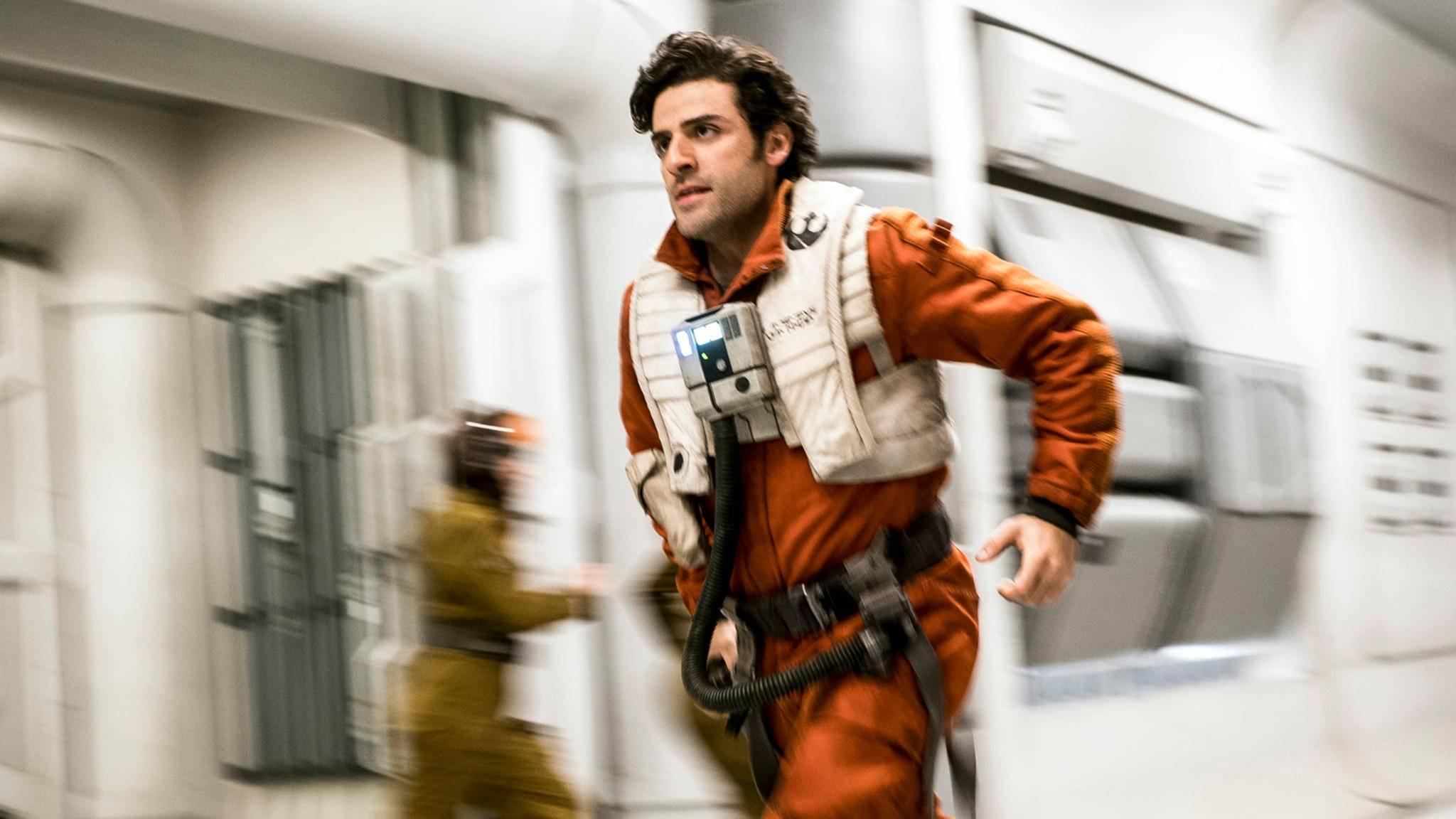 """Oscar Isaac musste zwischen den Sets von """"Star Wars: Die letzten Jedi"""" und """"Annihilation"""" hin und her flitzen."""