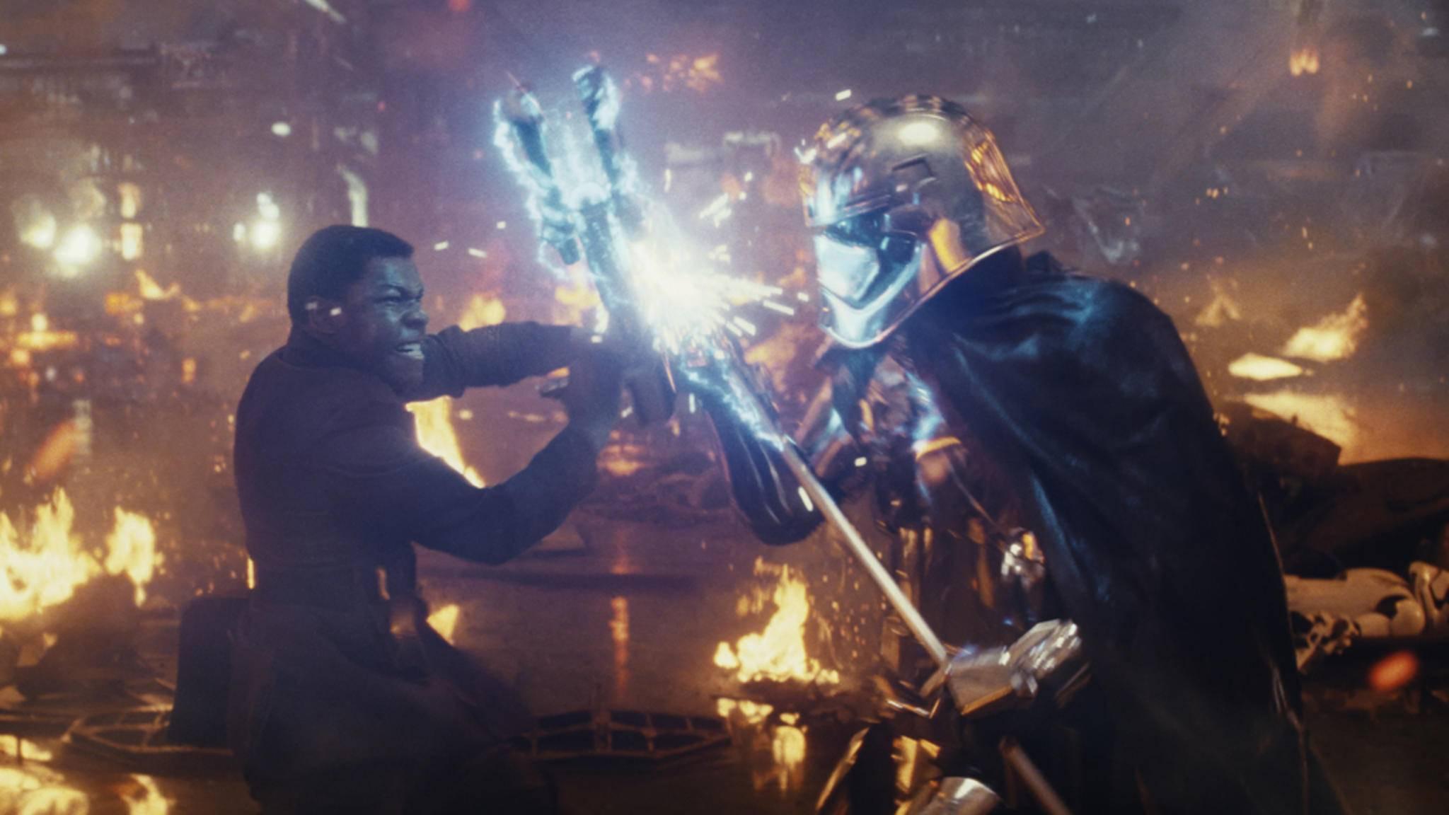 """In Bezug auf """"Star Wars: Die letzten Jedi"""" haben einige Fans noch ein Hühnchen zu rupfen."""