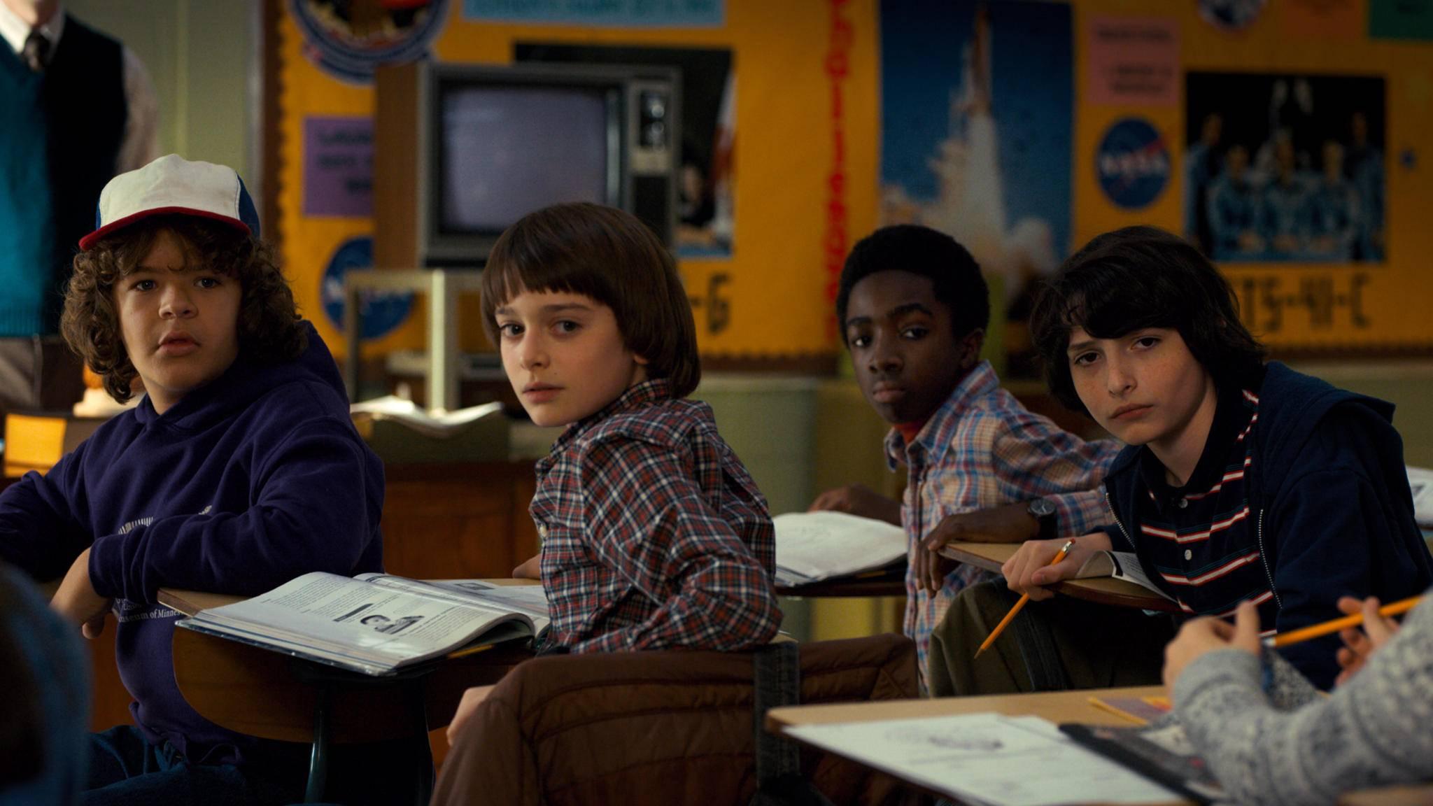 """Will Byers und seine Freunde können auf das Easter Egg zu Staffel 2 von """"Stranger Things"""" bestimmt gut verzichten."""