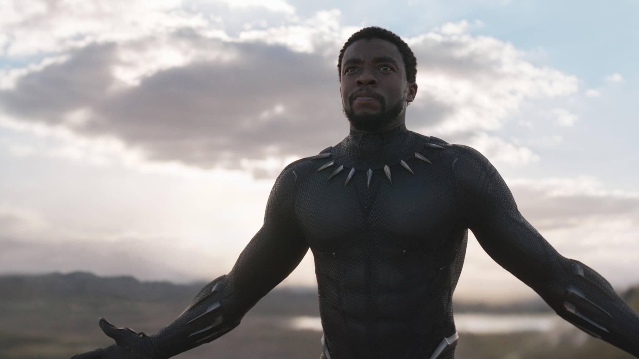 Der König von Wakanda und der US-Kinos? Marvel-Held Black Panther.