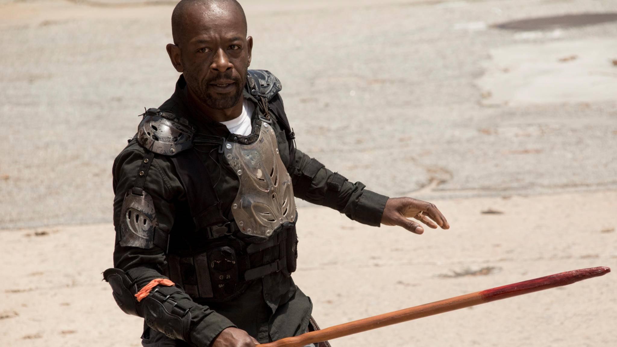"""In Staffel 4 von """"Fear the Walking Dead"""" wird Morgan erst mal zum Beifahrer."""