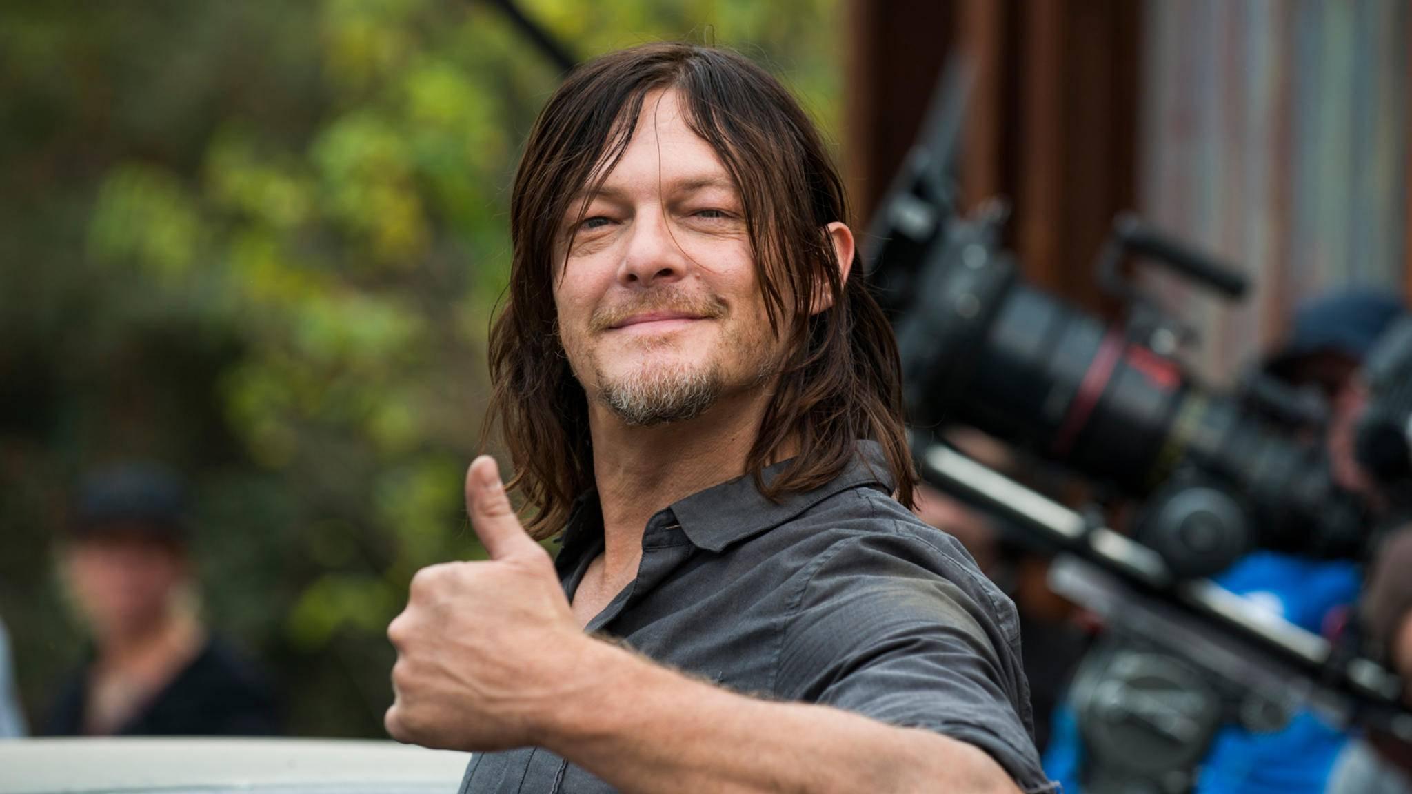 """Denkt gar nicht an einen Exit: Norman Reedus will """"The Walking Dead"""" bis zum Schluss erhalten bleiben."""