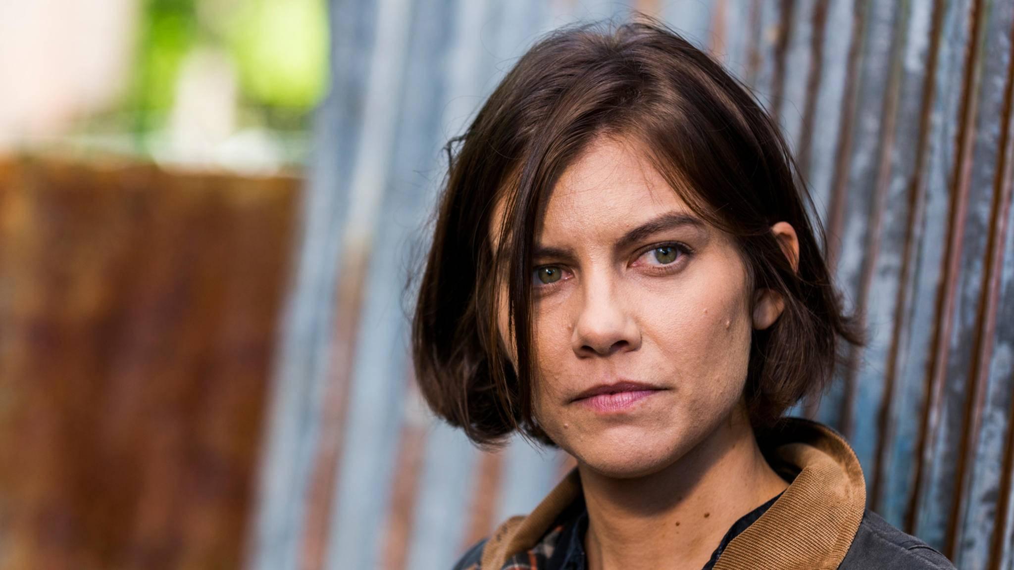 """Hat Maggie etwa selbst verraten, wie es um ihre Schwangerschaft in """"The Walking Dead"""" bestellt ist?"""