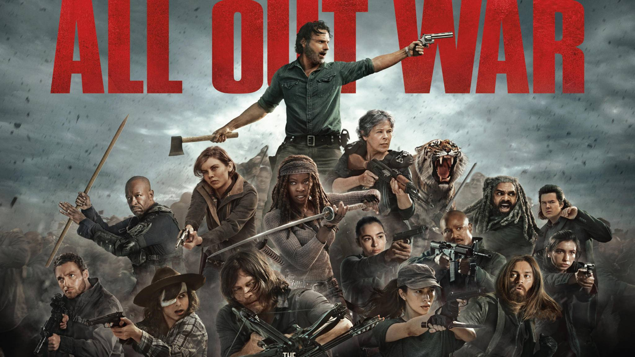 """Naht das Ende? Staffel 8 von """"The Walking Dead"""" könnte den alles entscheidenden Kampf zwischen Rick und Negan bringen."""