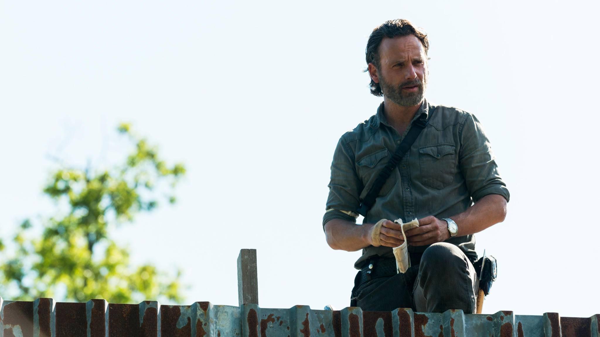 """Was dürfen die Fans in der Premiere von """"The Walking Dead""""-Staffel 8 von Rick erwarten?"""