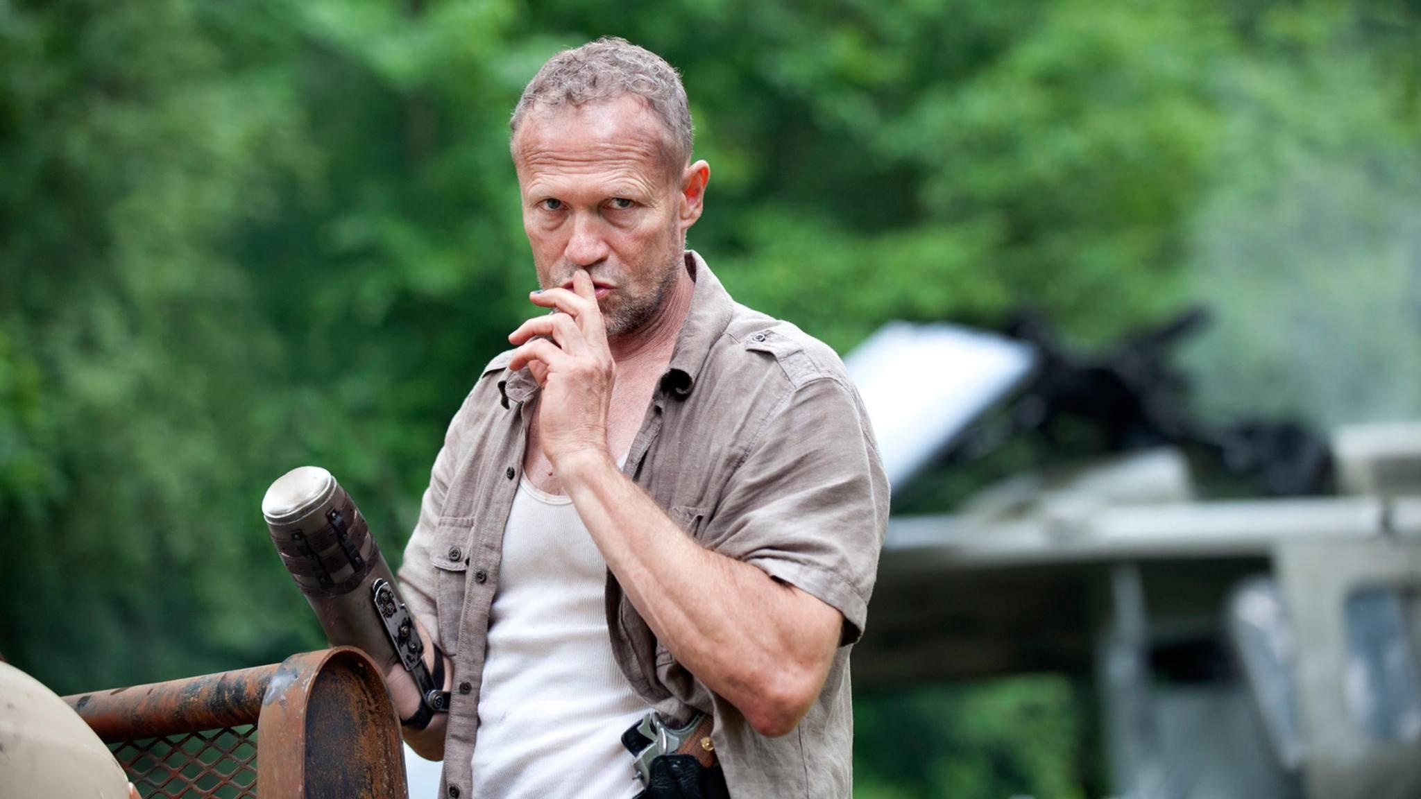 """In """"The Walking Dead"""" gab Michael Rooker den Fiesling Merle. Ob er auch in """"Fast & Furious 9"""" zum Bösewicht wird?"""