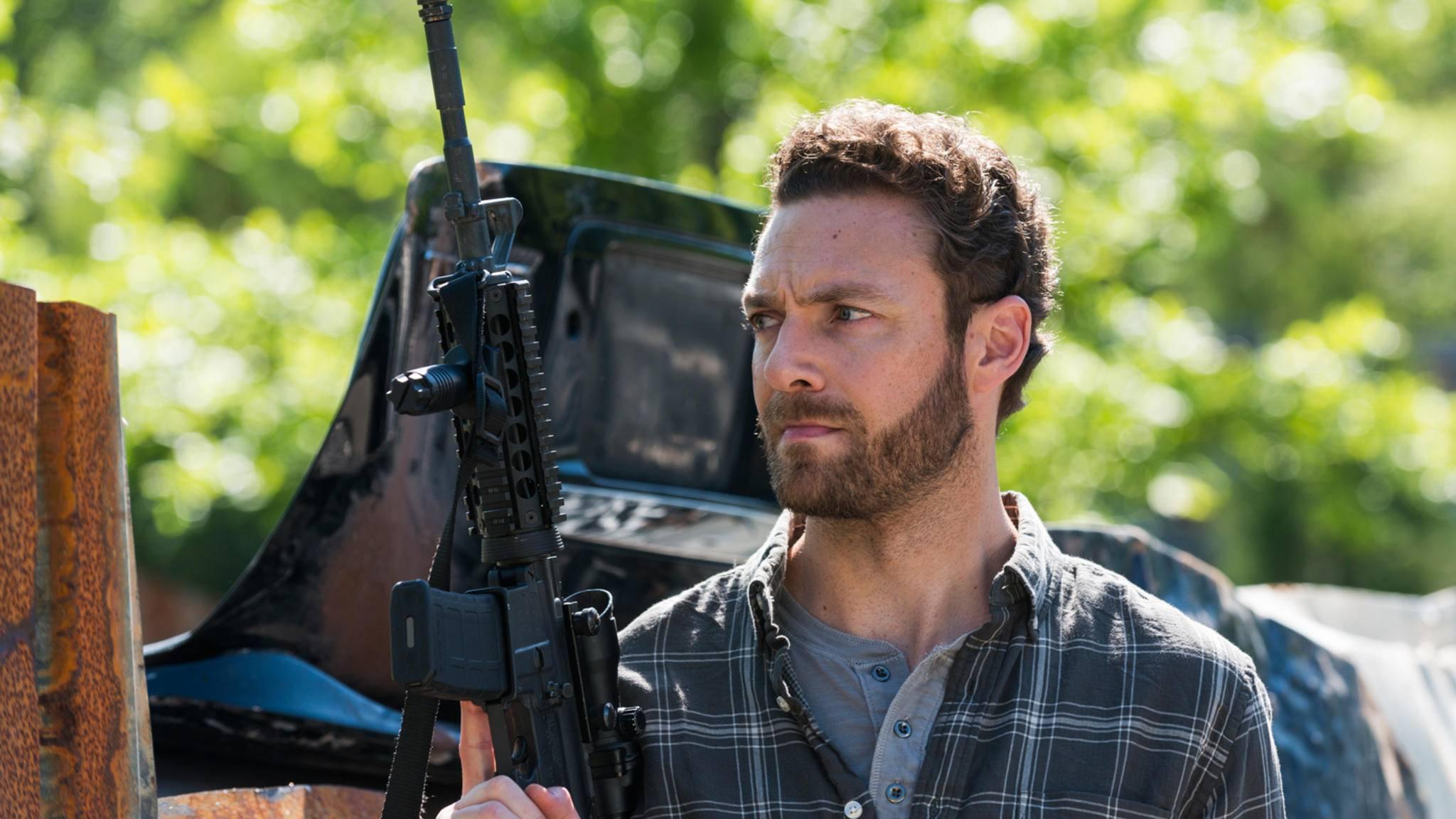 """In Staffel 8 von """"The Walking Dead"""" darf sich Aaron-Darsteller Ross Marquand wohl ziemlich austoben."""