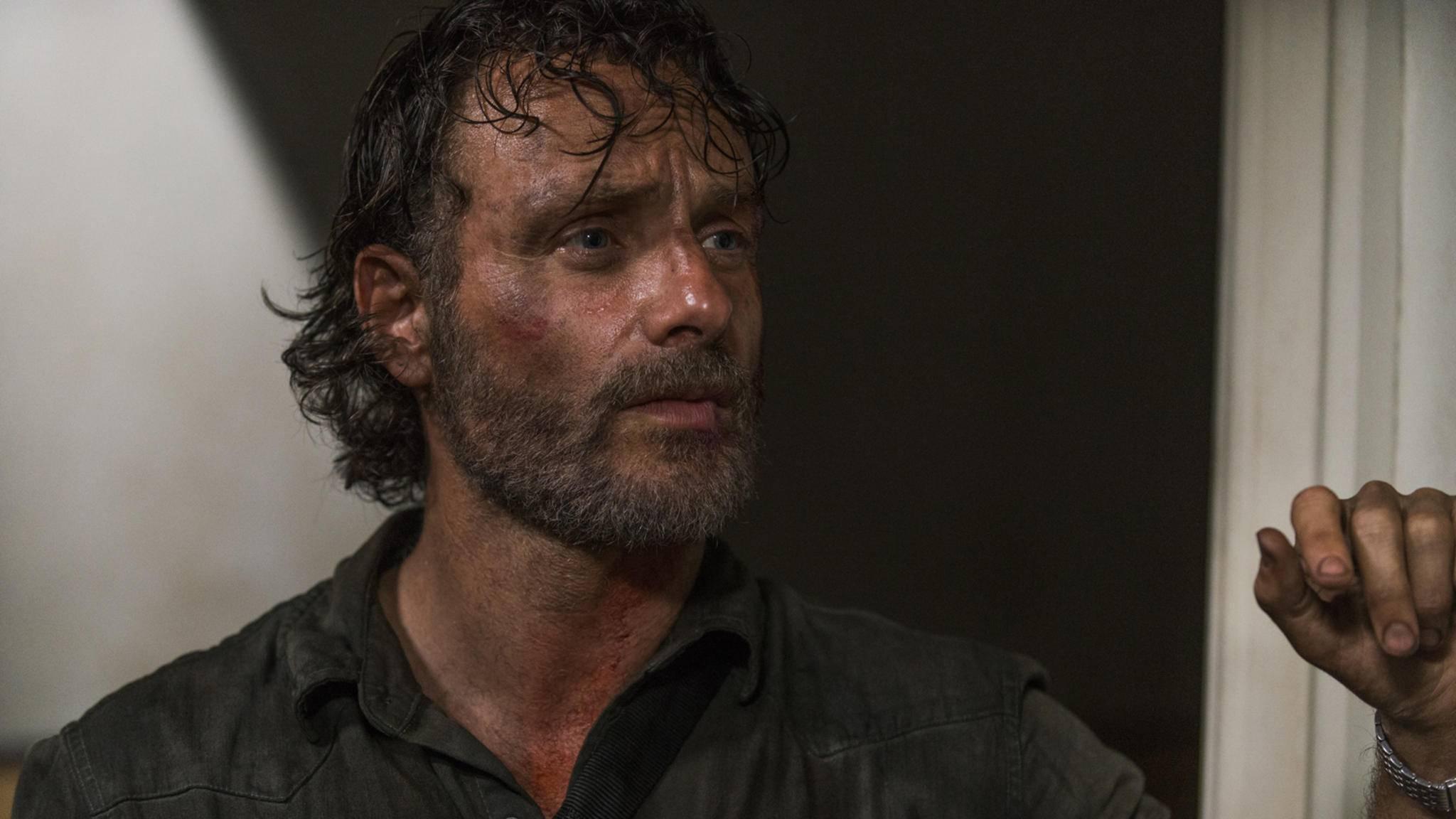 """Rick sieht ähnlich gerupft aus, wie die US-Quote der aktuellen Folge von """"The Walking Dead""""."""