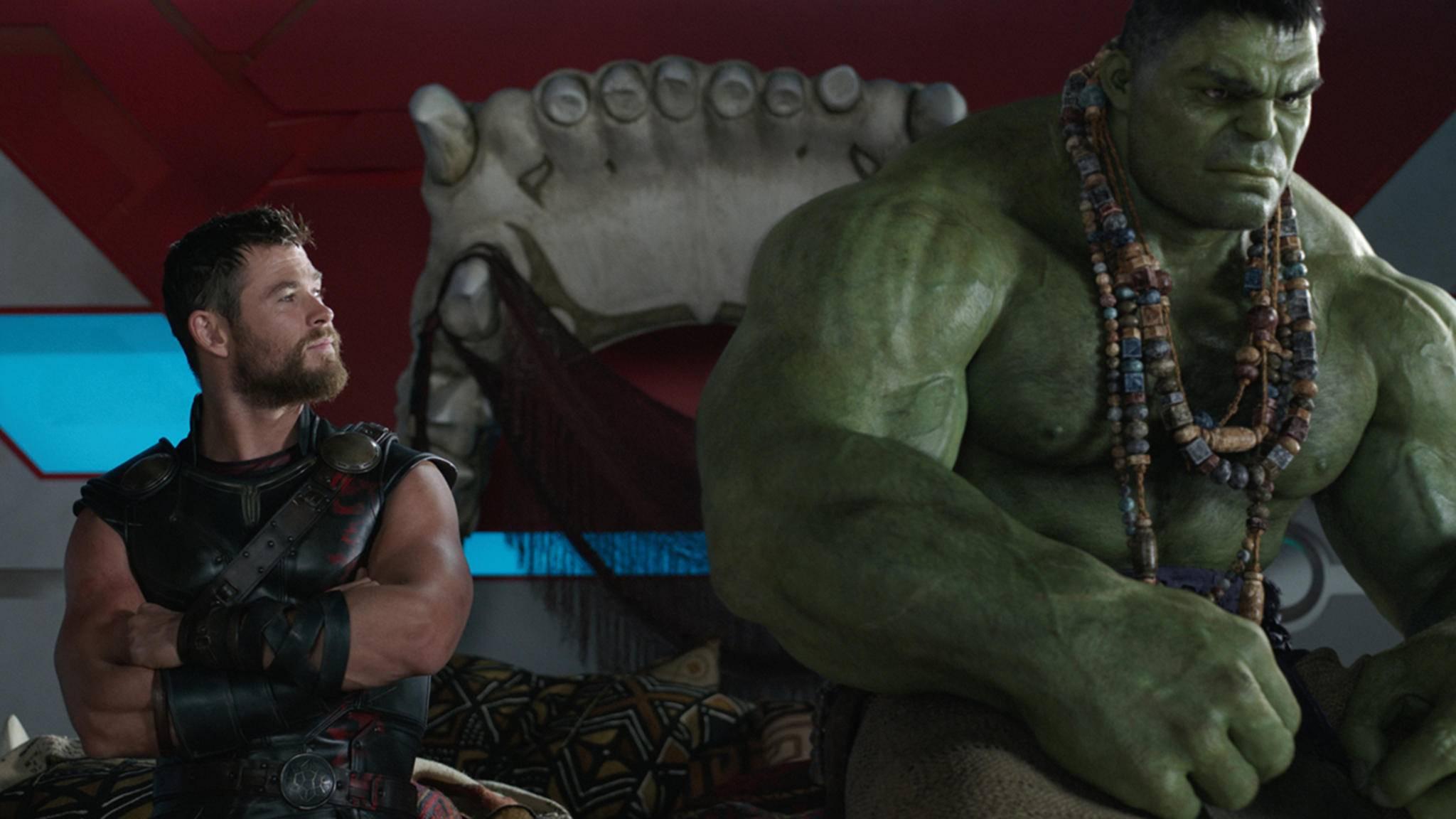 """Thor und Hulk in """"Thor 3: Tag der Entscheidung"""""""