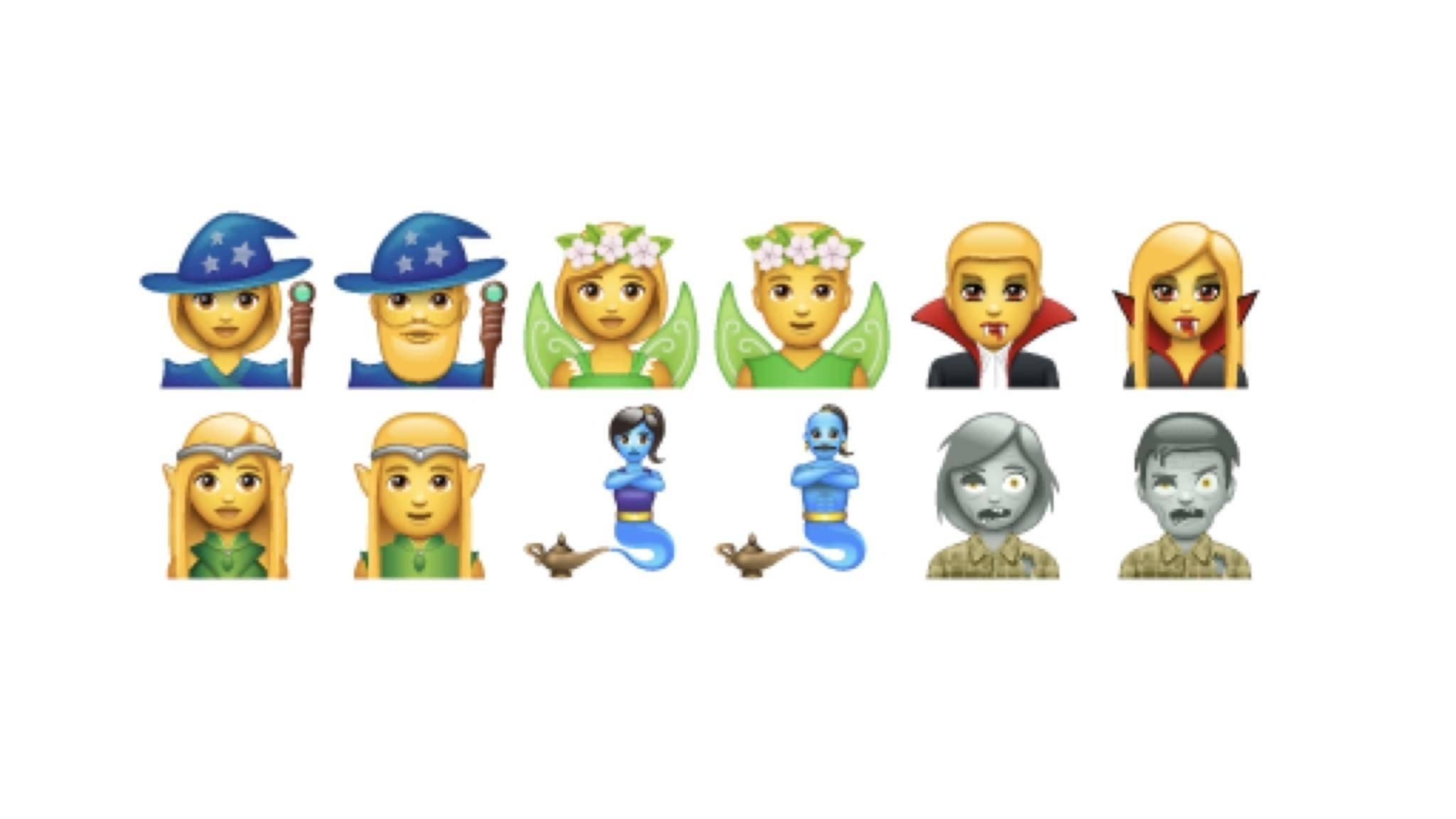 WhatsApp veröffentlicht noch vor Apple ein paar neue Fantasy-Emojis.