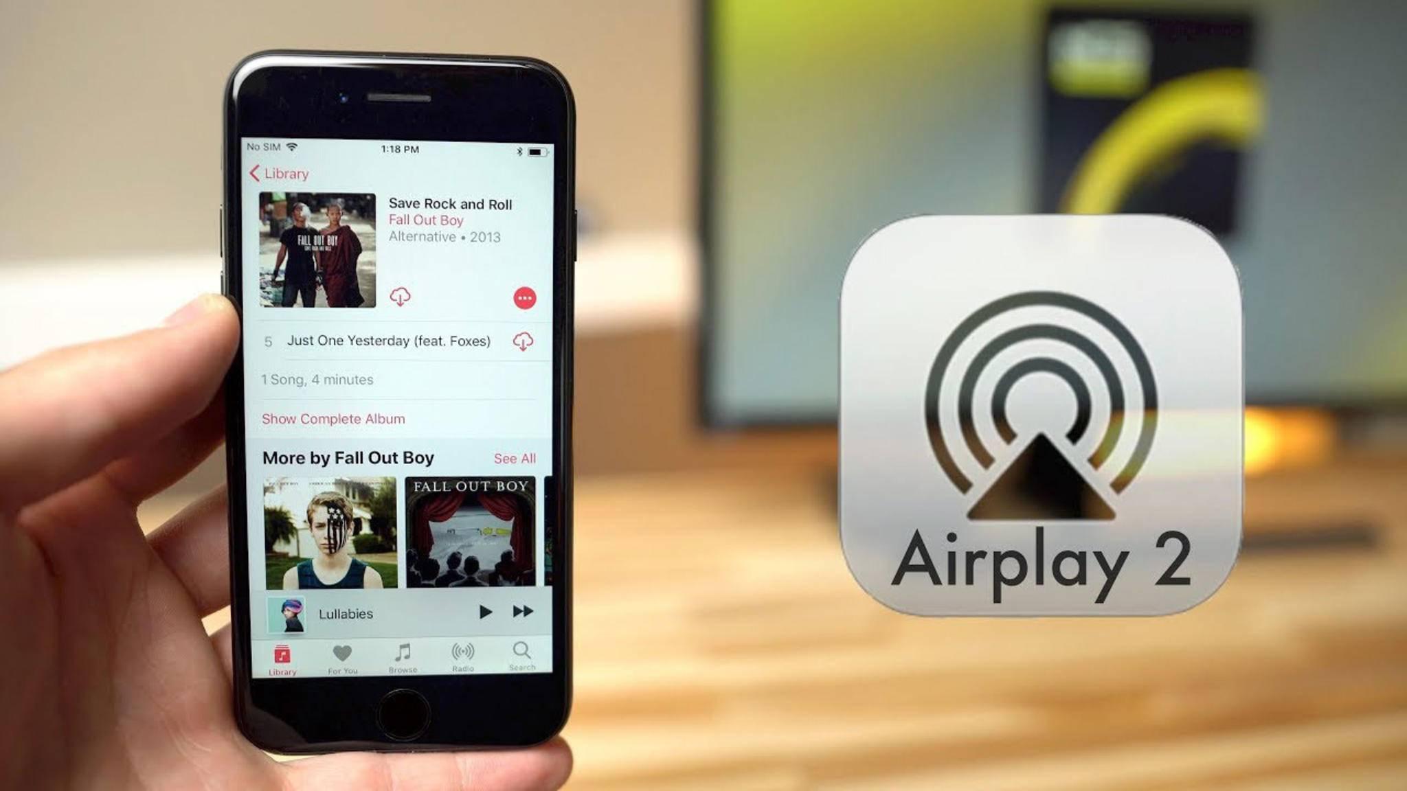 Du hast Probleme mit Apples AirPlay? Hier findest Du die Lösung.