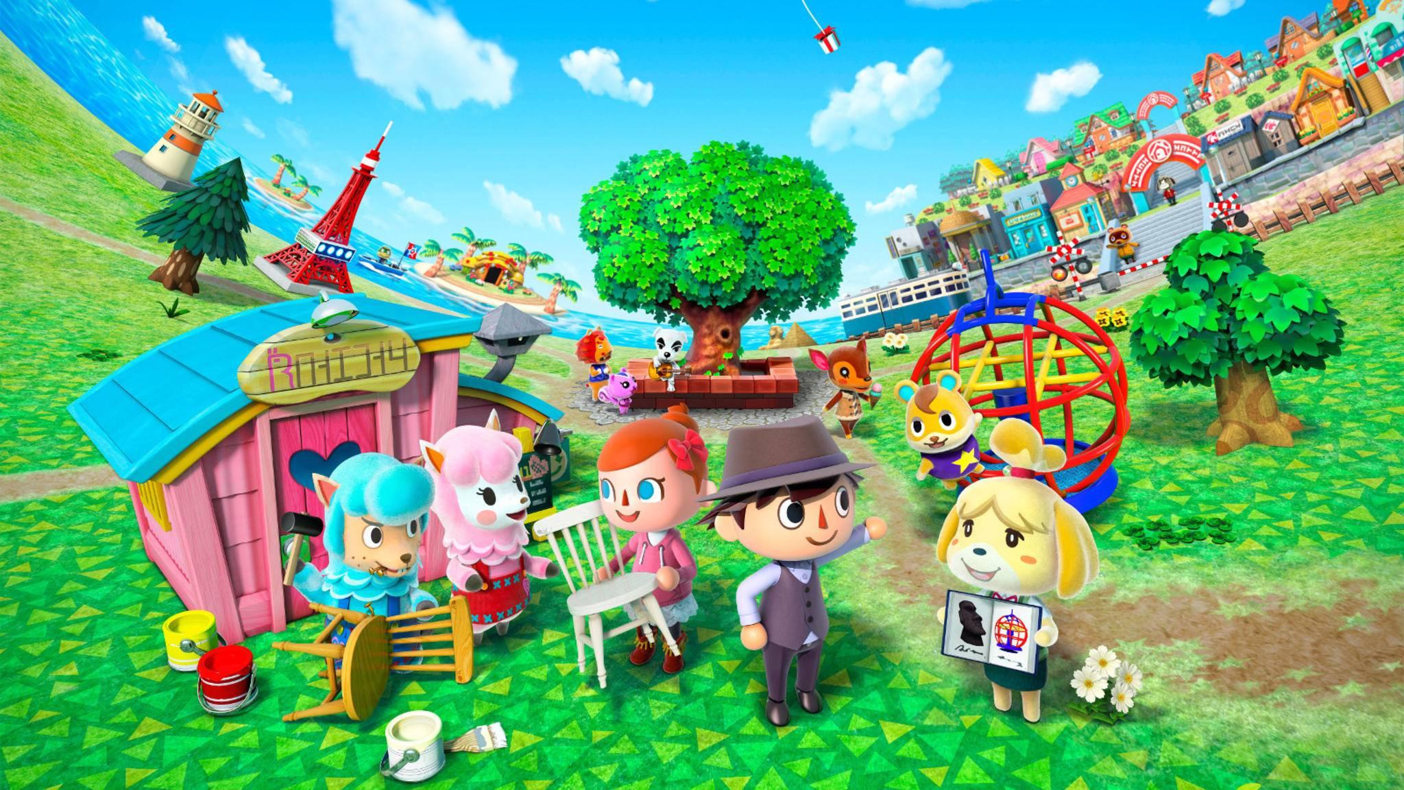 """Animal Crossing"" kommt bald auf Smartphones und Tablets."