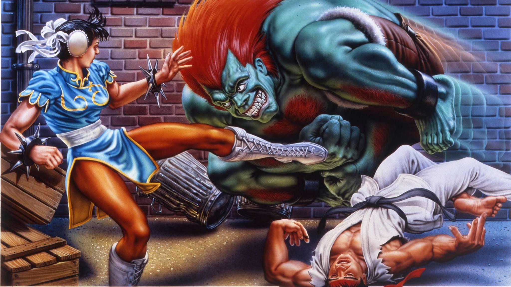 """Auch """"Street Fighter 2"""" war ein Titel, in dem ein Fehler für ein wichtiges Feature sorgte."""
