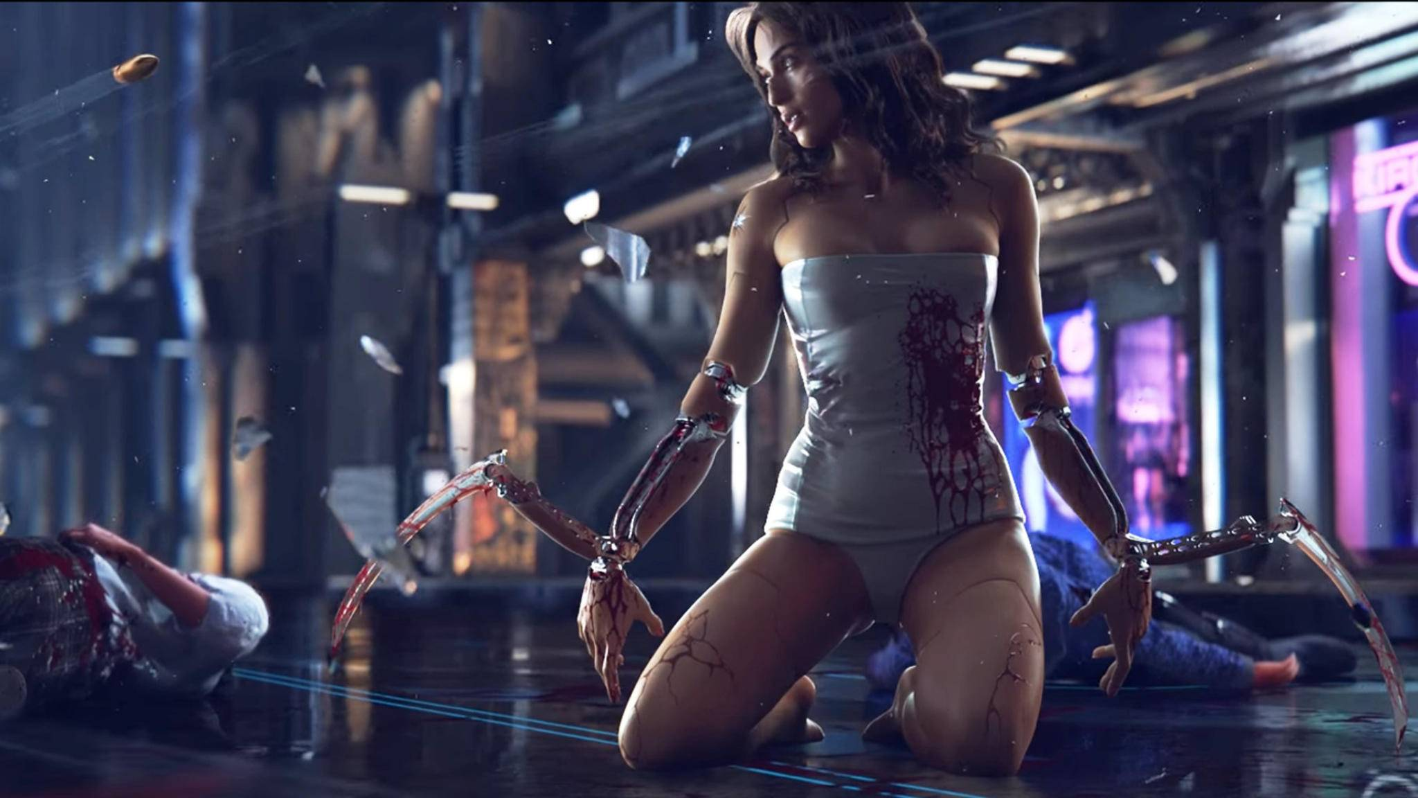 """""""Cyberpunk 2077"""" von den Machern von """"The Witcher 3"""" gehört zu den sehnlichst erwarteten Computerspielen."""