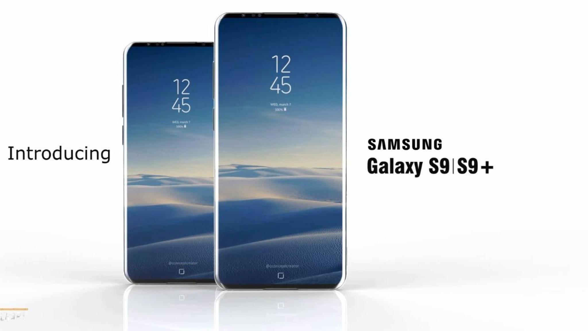 Das Galaxy S9 soll sich kaum vom Vorgänger Galaxy S8 unterscheiden.