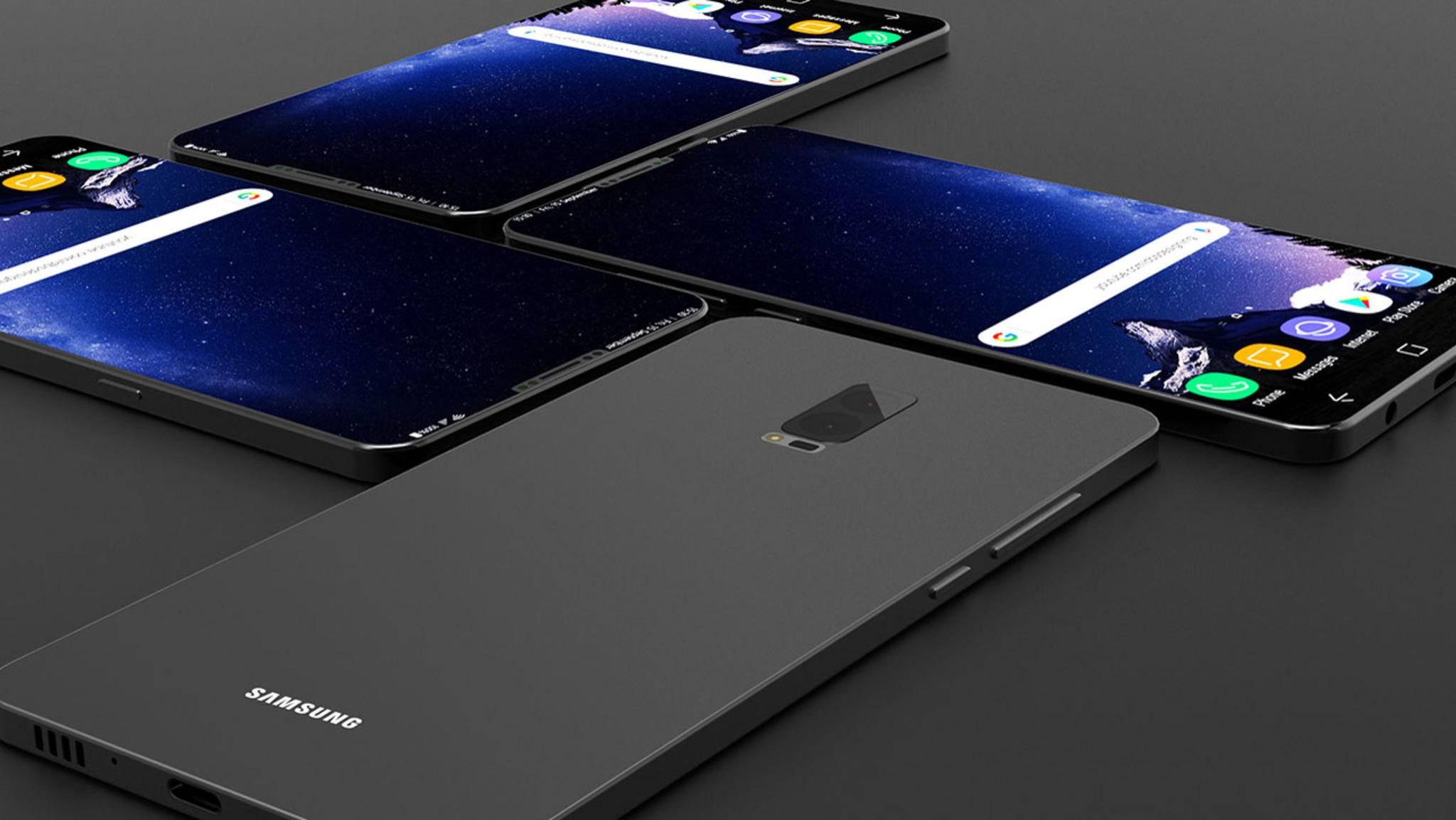 Wird das Galaxy S9 einen Fingerabdrucksensor auf der Front besitzen?