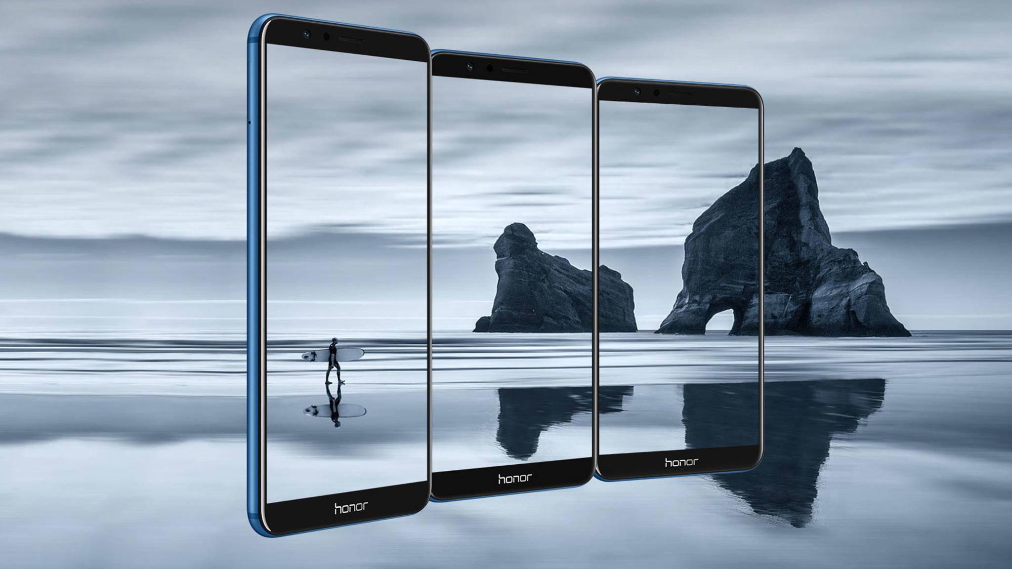 Das Honor 7X besitzt ein 5,93 Zoll großes Display im 18:9-Format.
