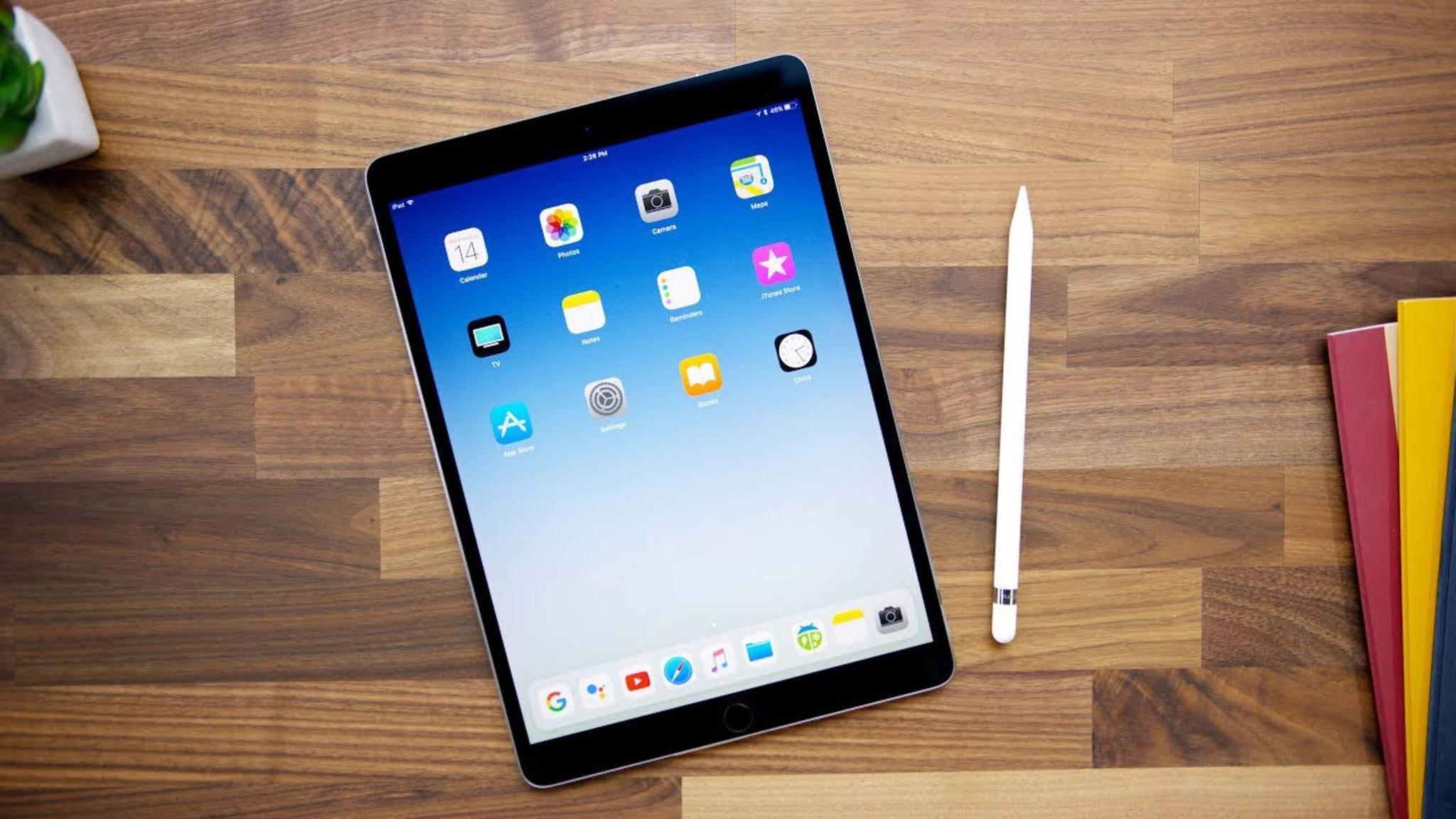 Das iPad könnte in Zukunft auch eine Version mit Face ID bekommen.