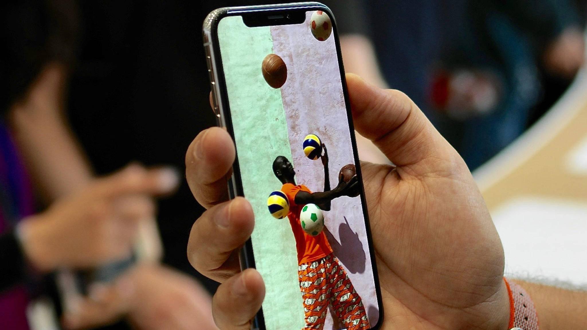 Trotz hohem Preis: Das iPhone X scheint heiß begehrt.