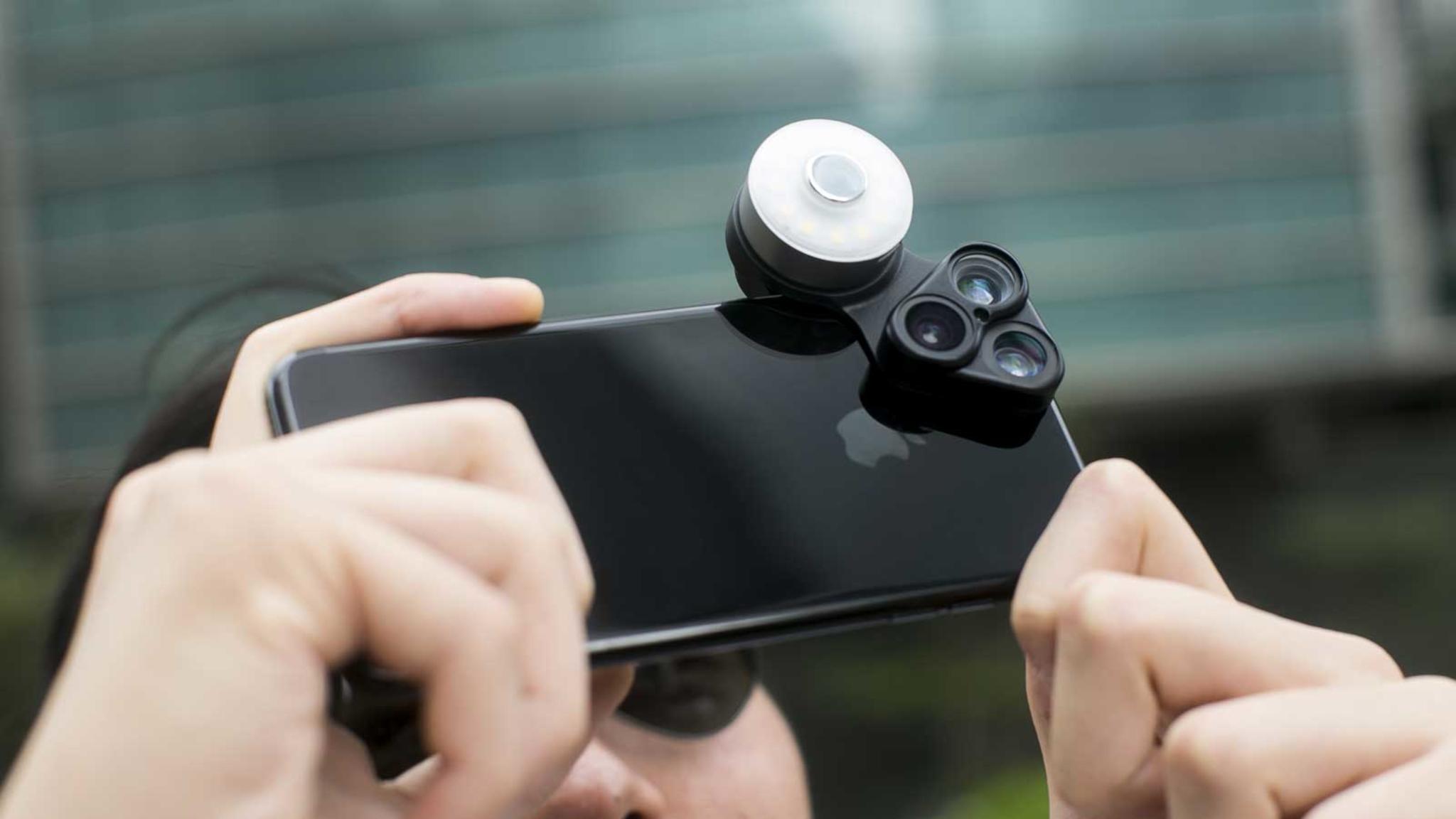 Mit RevolCam lassen sich interessante fotografische Effekte auf dem Smartphone erzielen.