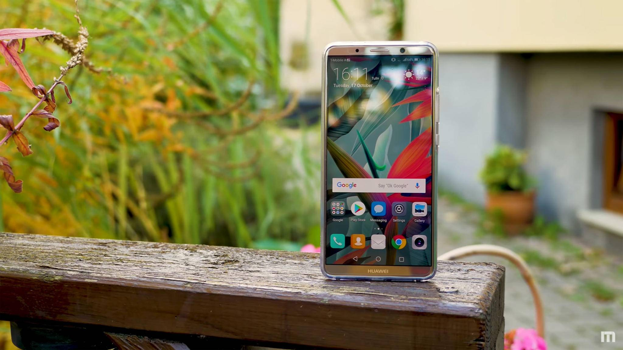 Wurde in dieser Woche offiziell vorgestellt: Das Huawei Mate 10 Pro.