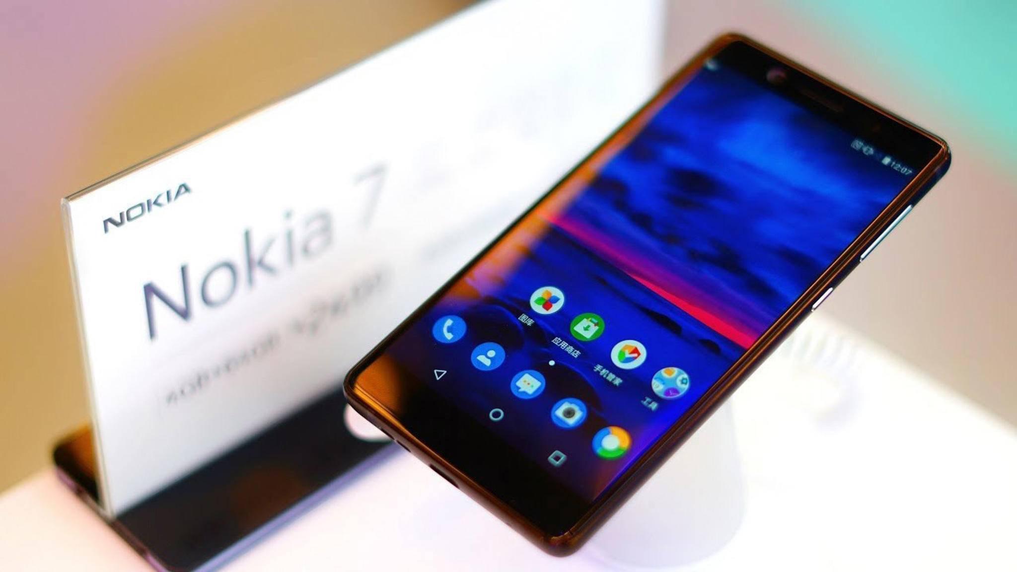 Edles Aluminium-Gehäuse und abgerundete Ecken: Das Nokia 7 wurde enthüllt.
