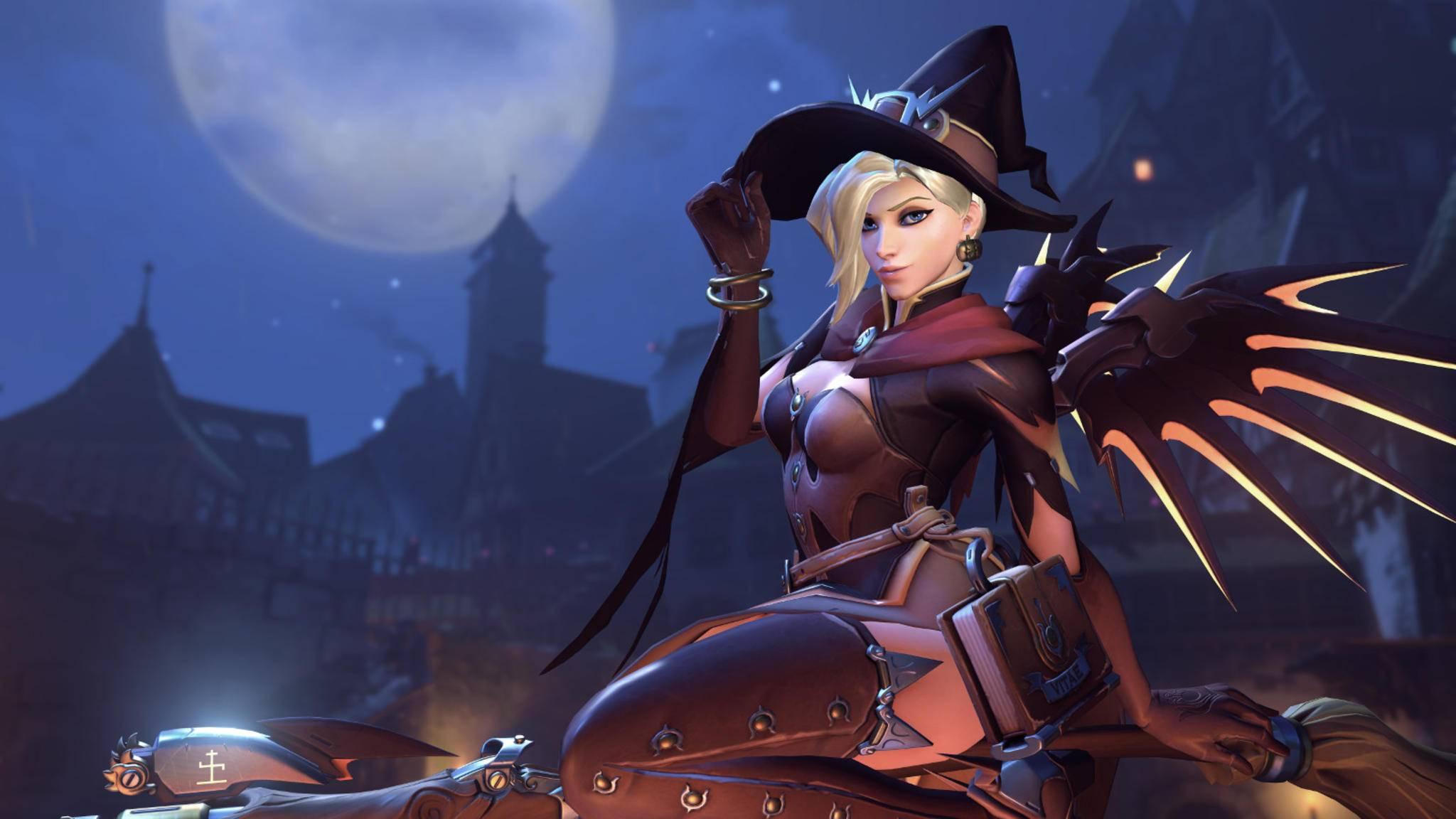 """Die """"Overwatch""""-Heldinnen und Helden schmeißen sich bald wieder für Halloween in Schale."""