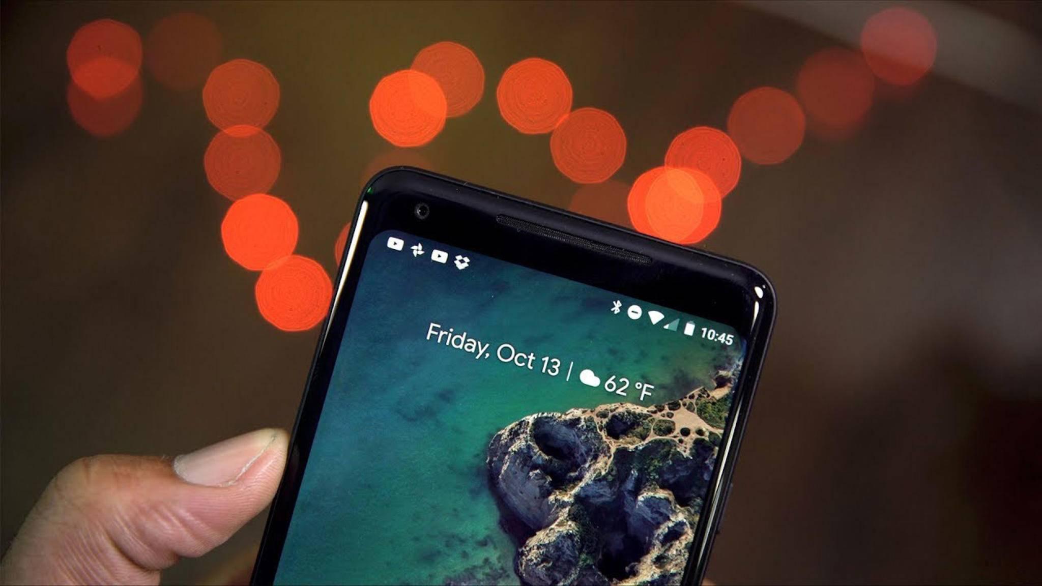 Auch das Pixel 2 XL bekommt den Nachtmodus.